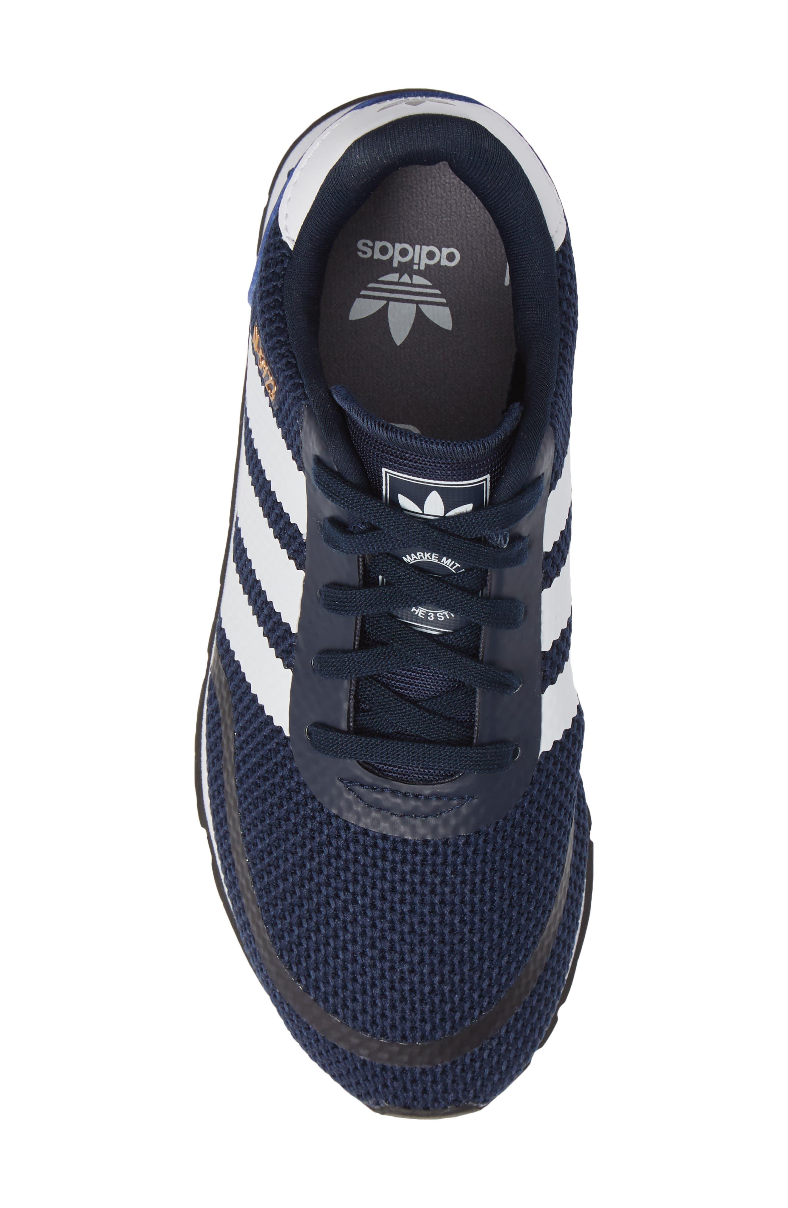 N-5923 Classic Sneaker,                             Alternate thumbnail 5, color,                             COLLEGIATE NAVY / WHITE