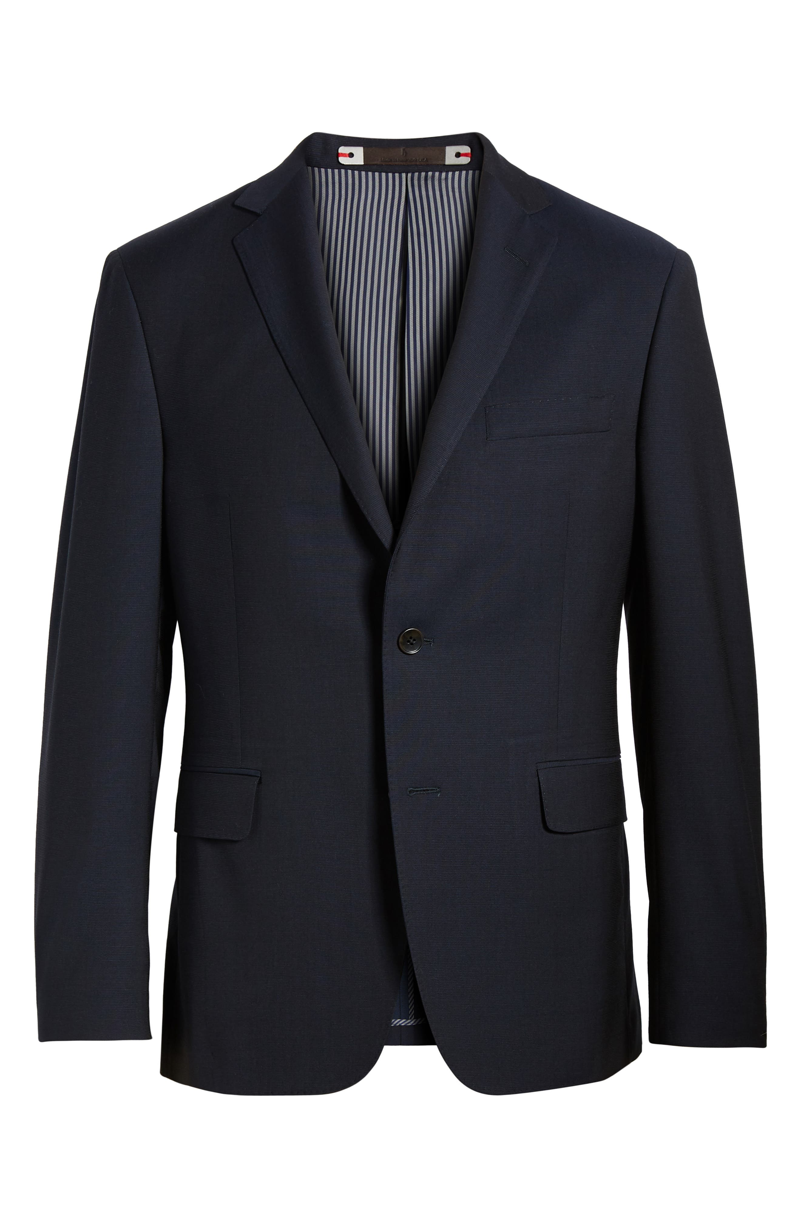 Classic Fit Wool Blazer,                             Alternate thumbnail 5, color,                             400