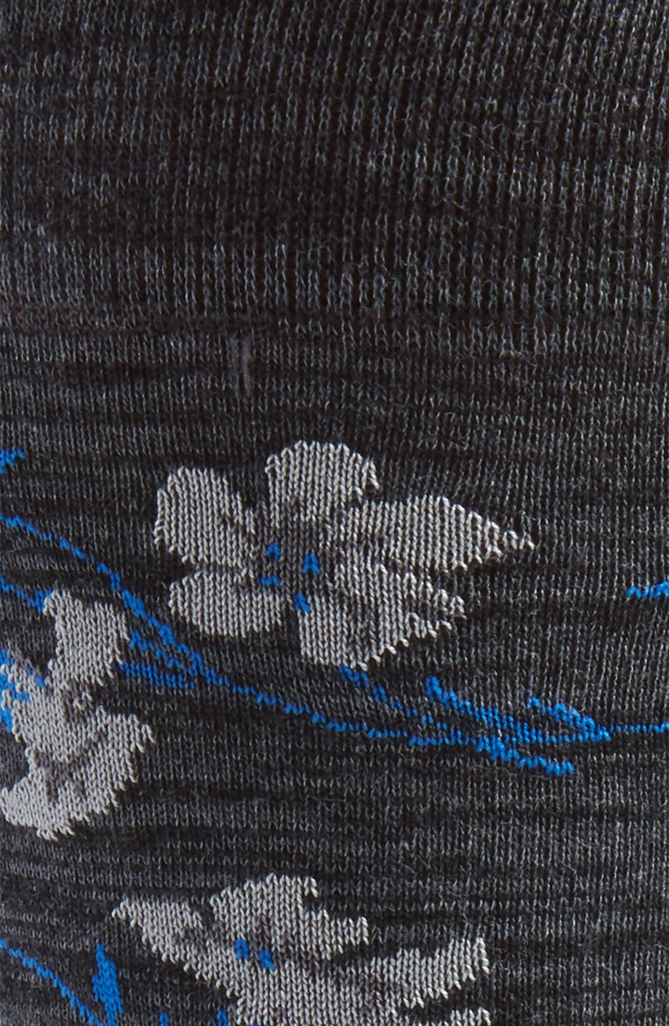 BUGATCHI,                             Mercerized Cotton Blend Socks,                             Alternate thumbnail 2, color,                             030
