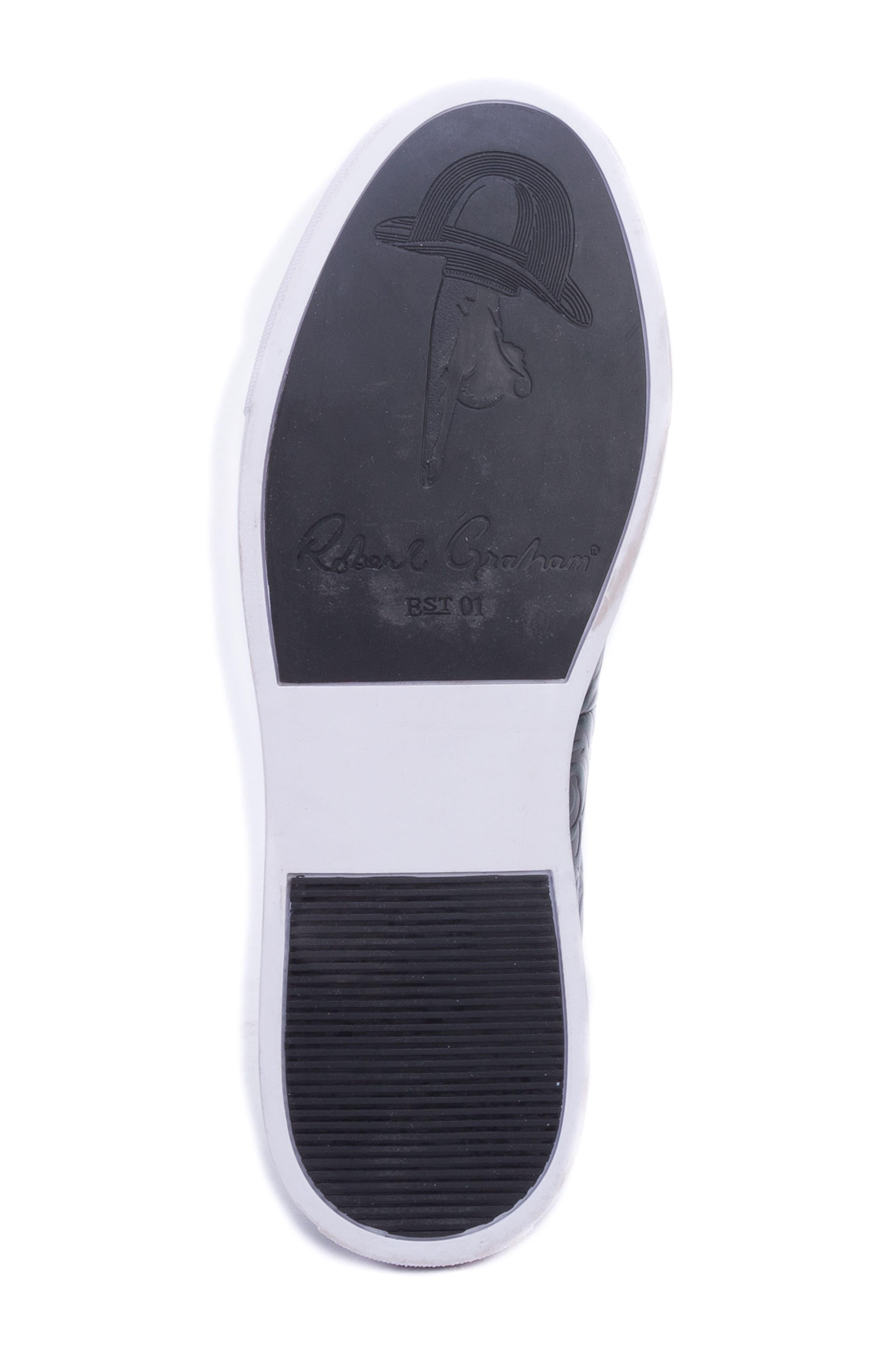 Lanning Slip-On Sneaker,                             Alternate thumbnail 6, color,                             GREEN LEATHER