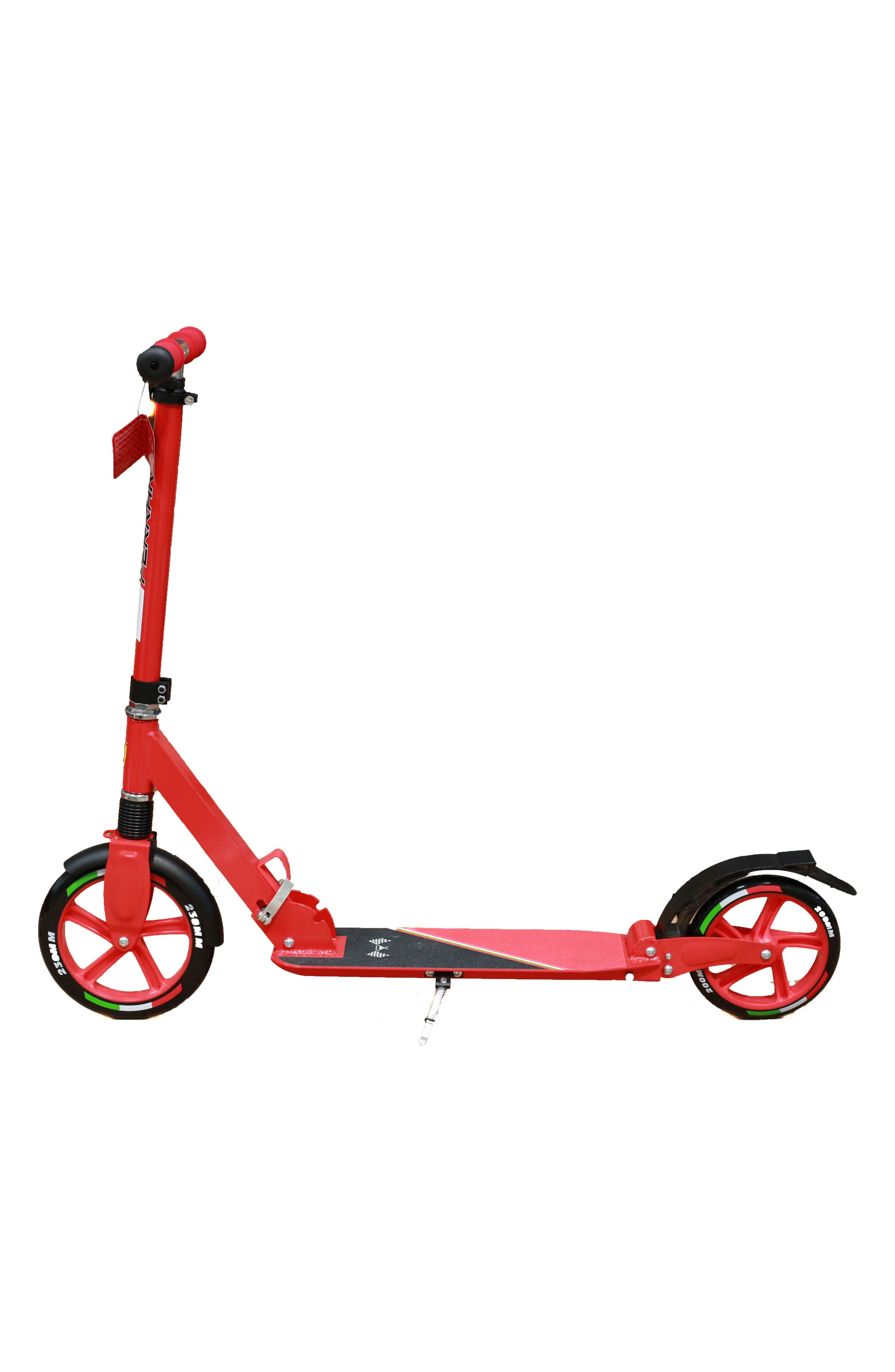 Two Wheel Scooter,                         Main,                         color, FERRARI RED