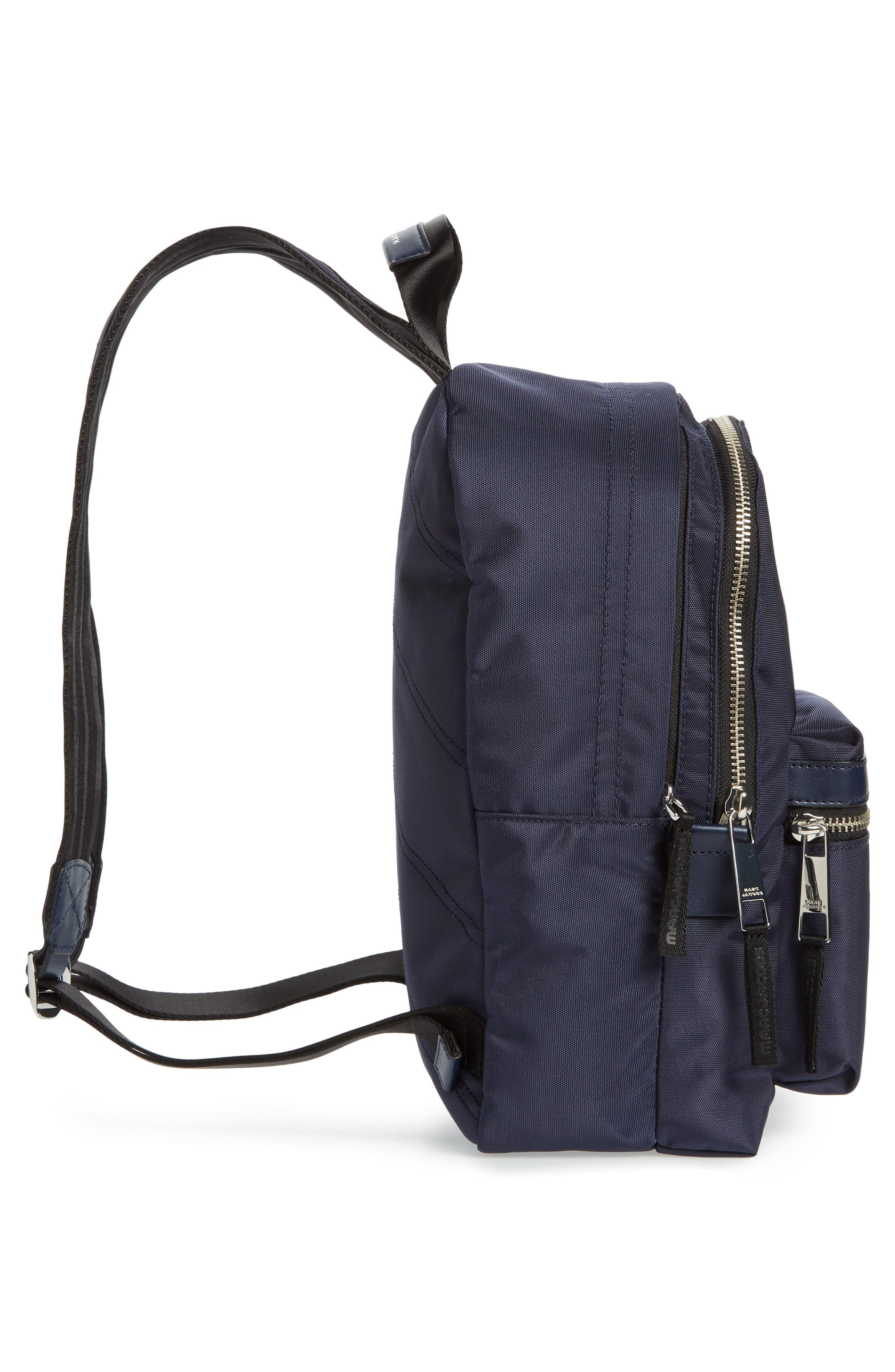 Medium Trek Nylon Backpack,                             Alternate thumbnail 5, color,                             MIDNIGHT BLUE