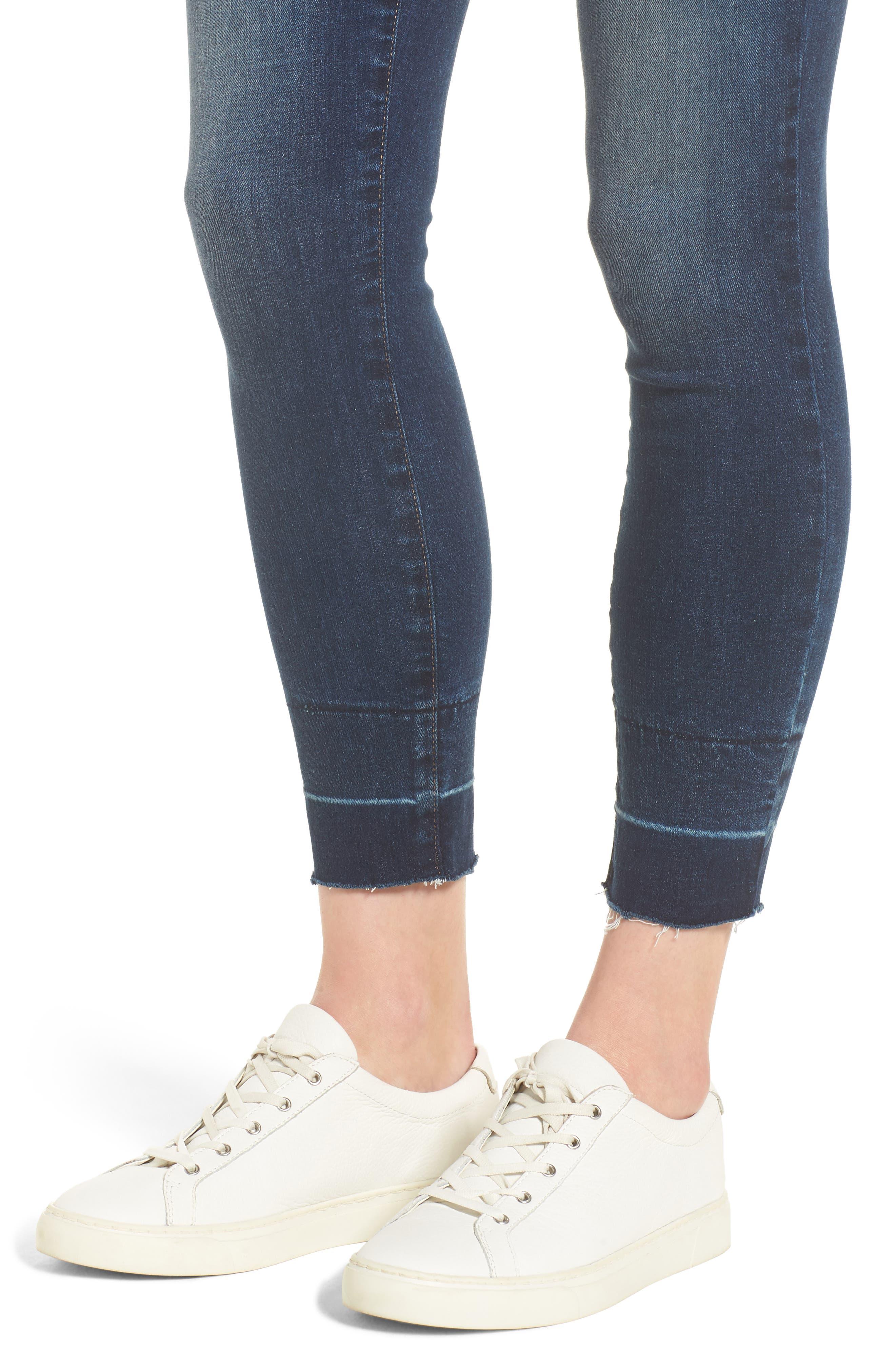 NYDJ,                             Ami Wide Release Hem Super Skinny Jeans,                             Alternate thumbnail 4, color,                             403