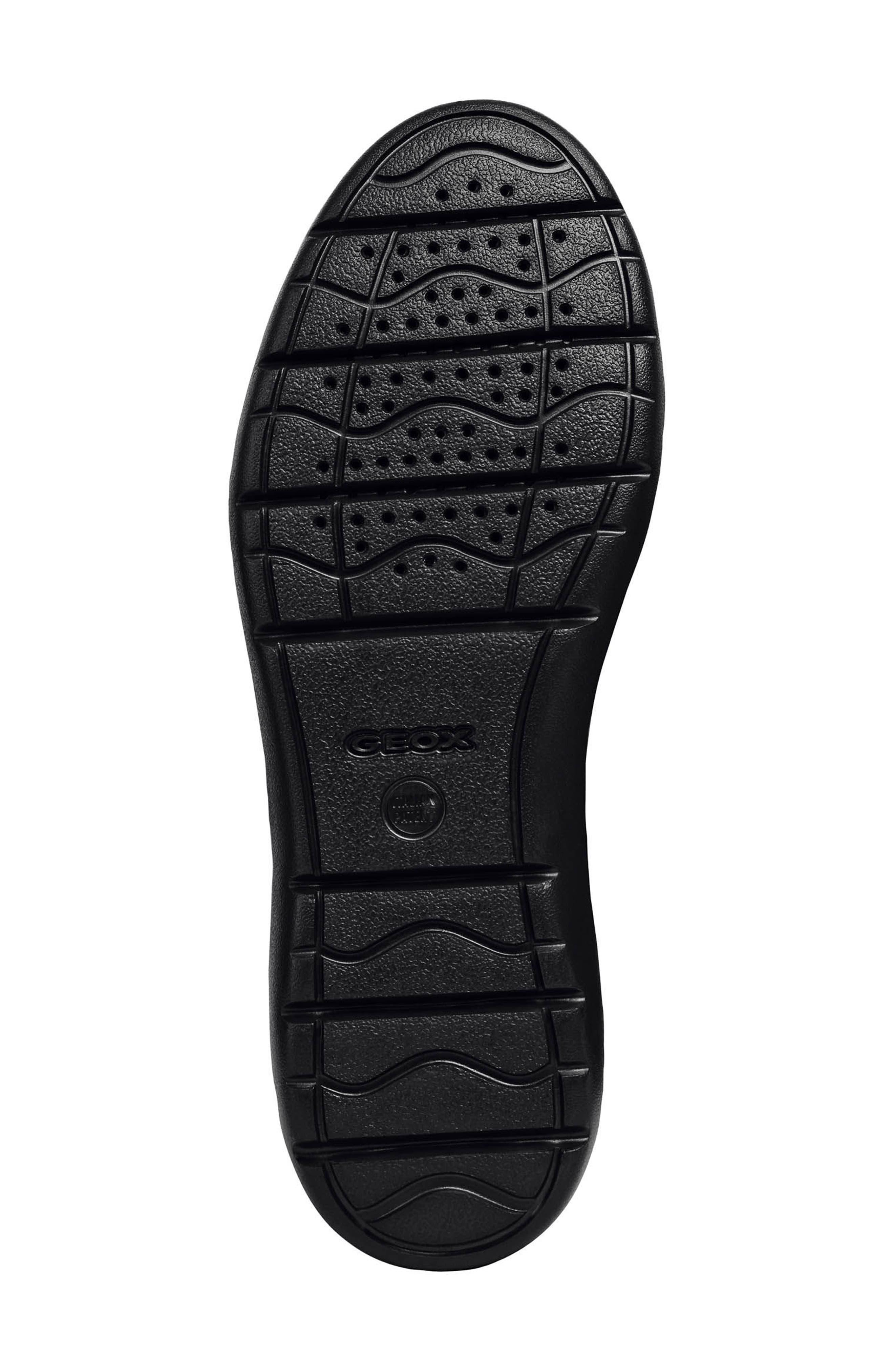 Leitan 6 Moc Toe Slip-On,                             Alternate thumbnail 6, color,                             BLACK LEATHER