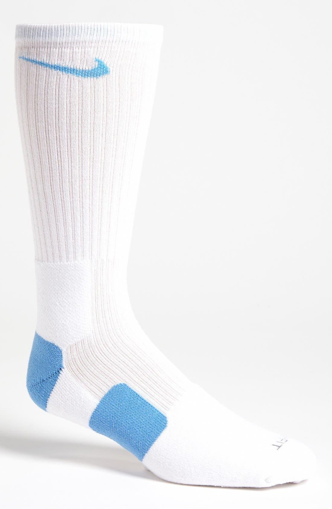 'Elite Basketball' Crew Socks,                             Main thumbnail 19, color,