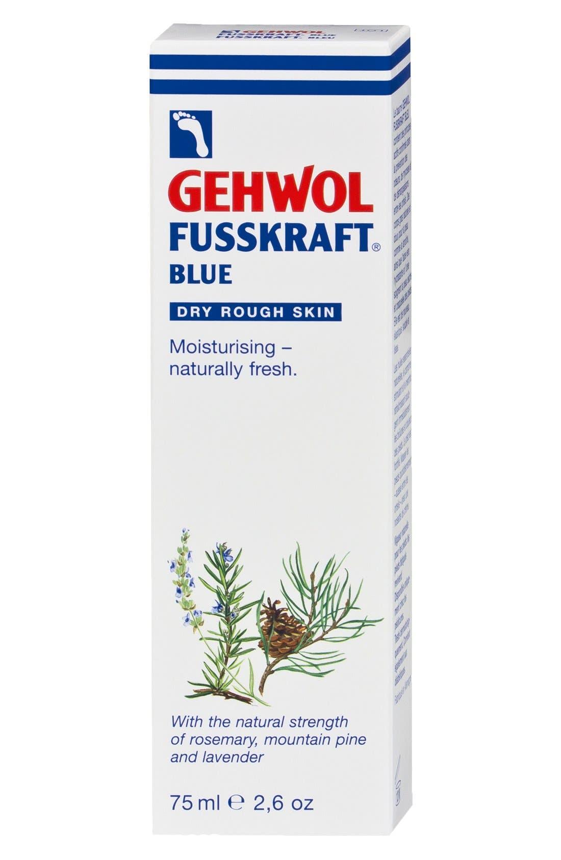 FUSSKRAFT<sup>®</sup> Blue Foot Cream,                             Alternate thumbnail 3, color,                             BLUE