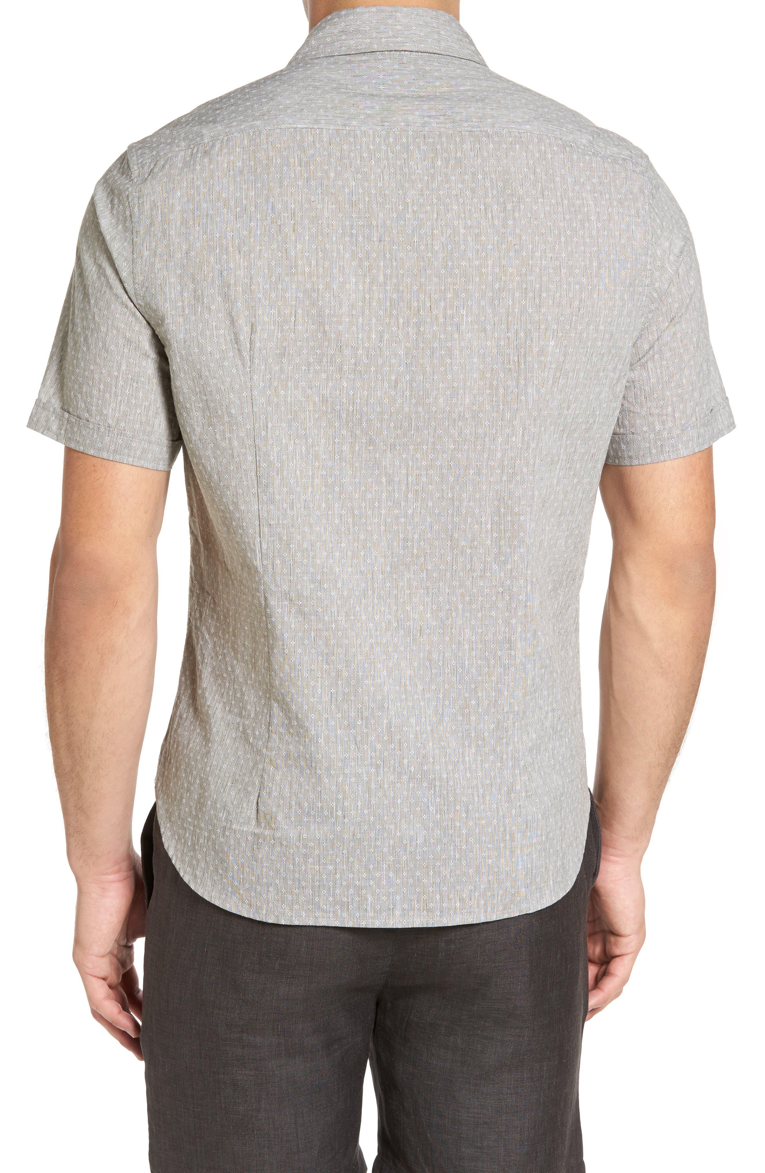 Classic Fit Sport Shirt,                             Alternate thumbnail 2, color,                             310