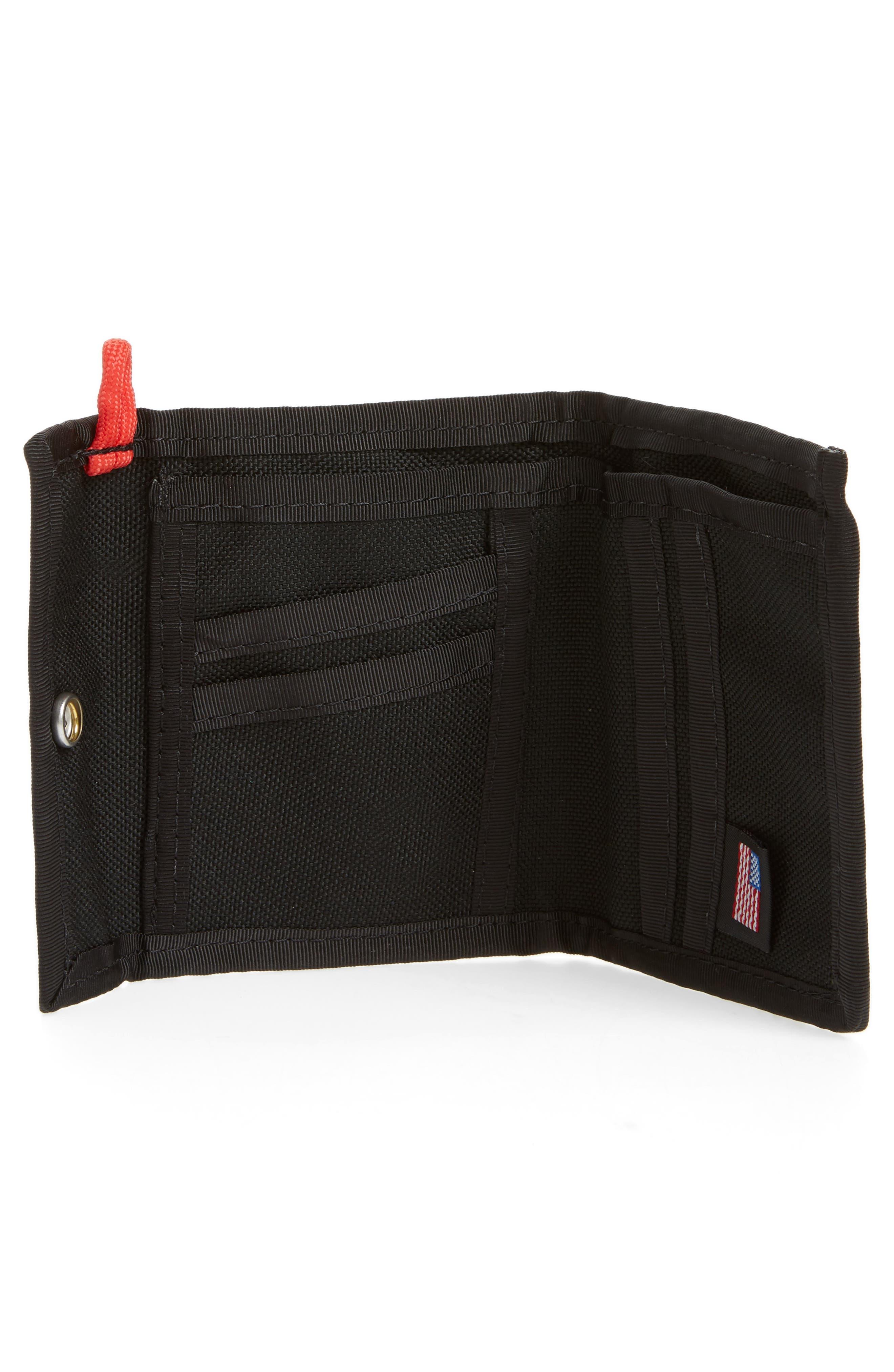 Snap Wallet,                             Alternate thumbnail 2, color,                             BLACK