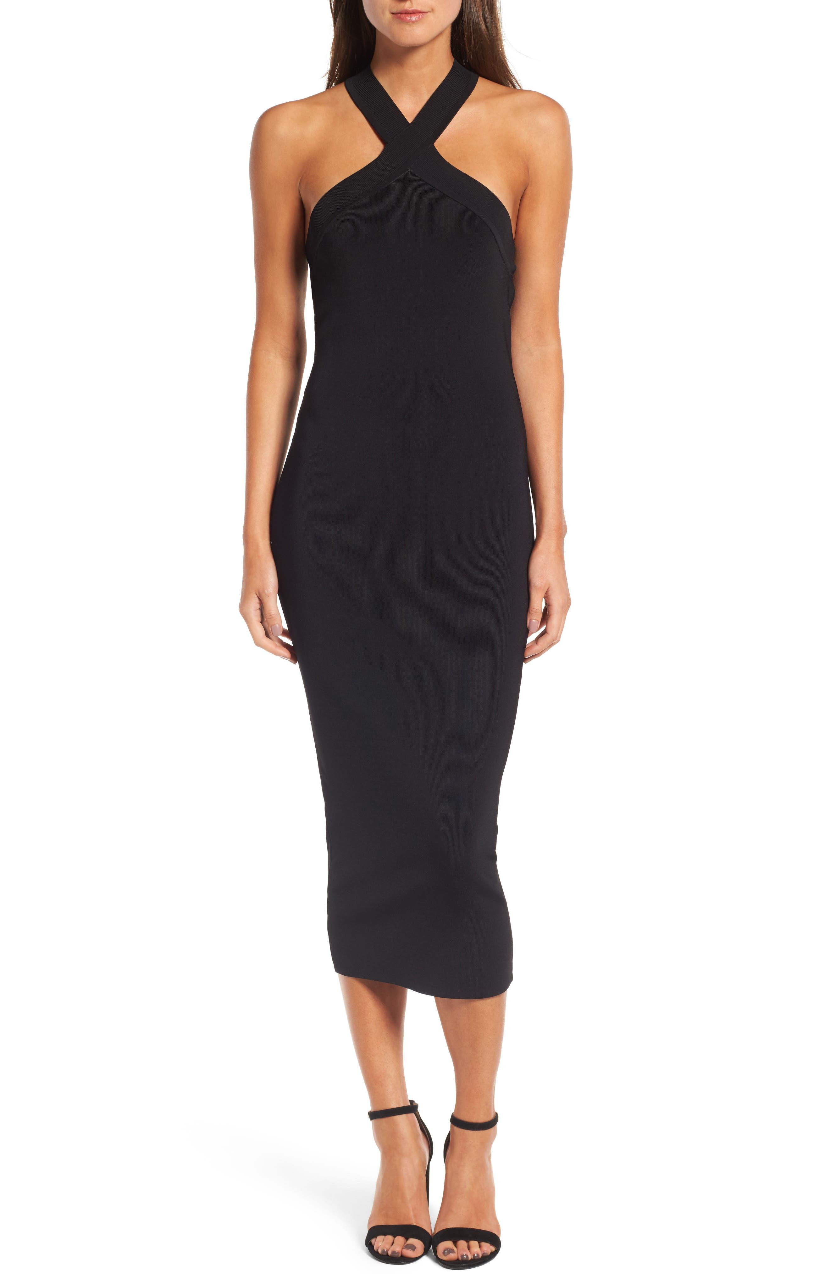 Halter Dress,                         Main,                         color, 001