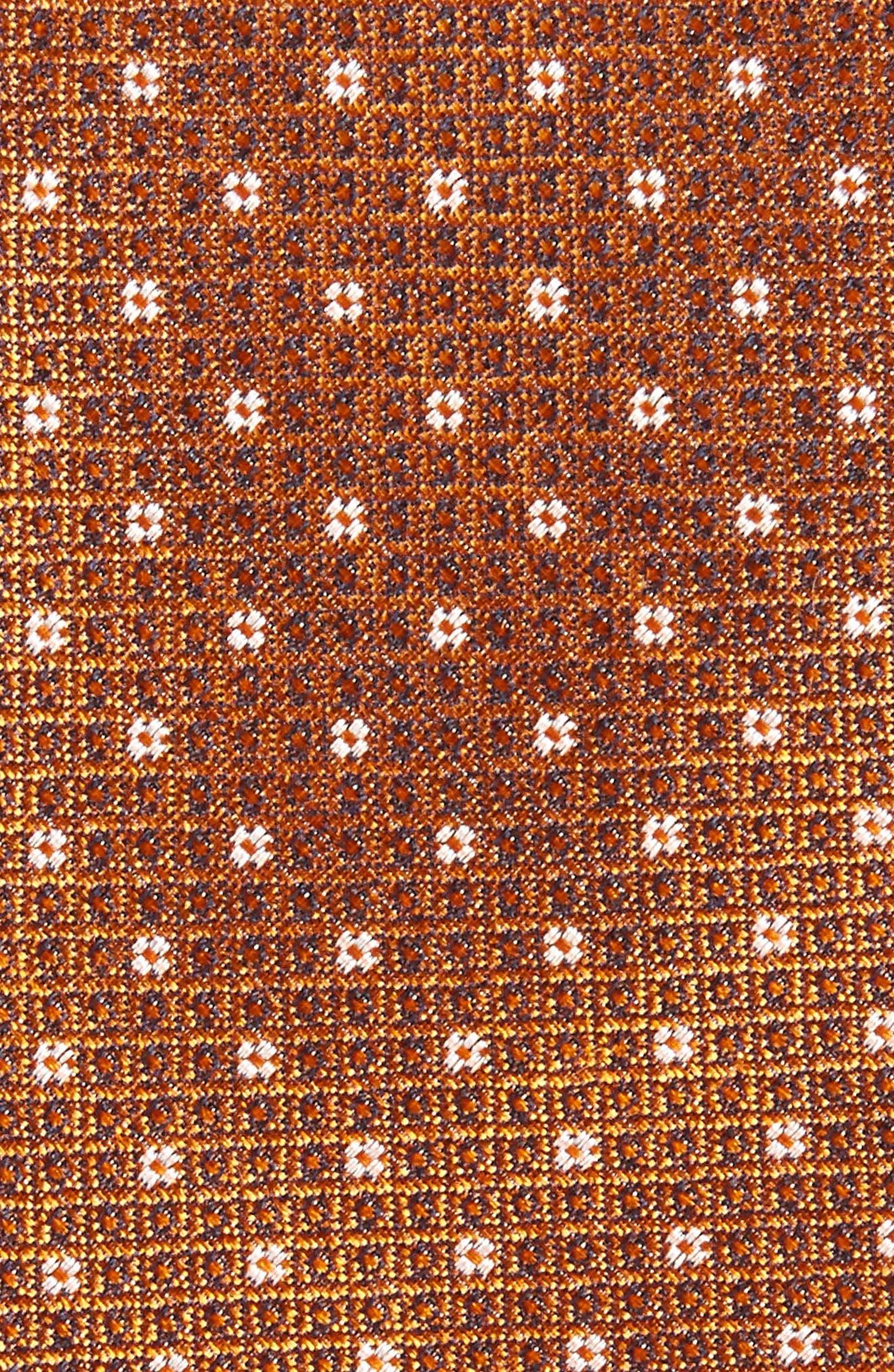 Denson Neat Silk Tie,                             Alternate thumbnail 16, color,
