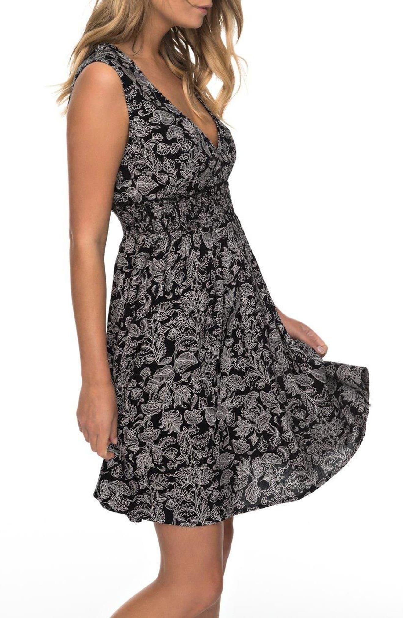 Angelic Grace Print Dress,                             Alternate thumbnail 3, color,                             002