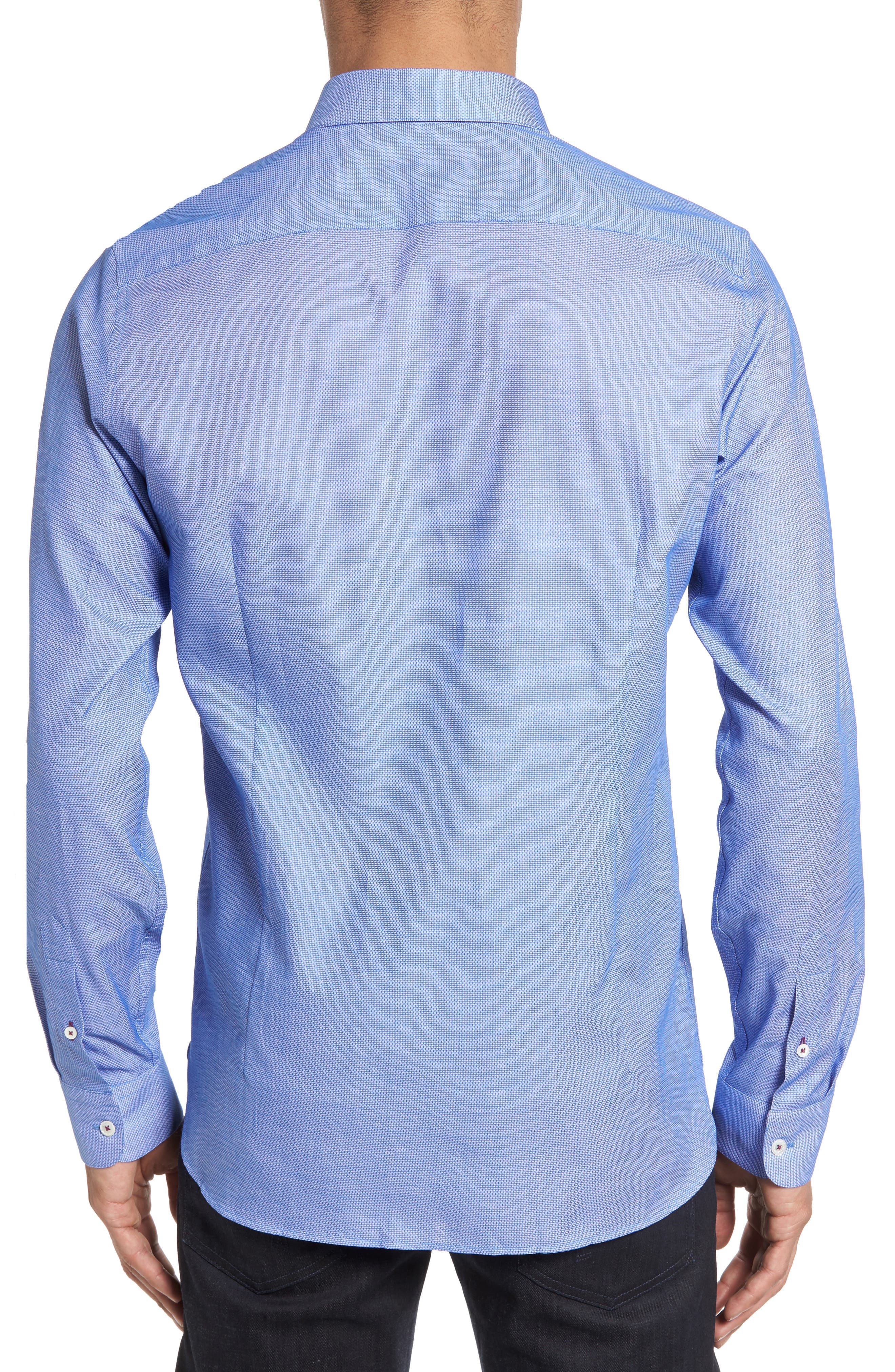 Nordlux Modern Slim Fit Stretch Cotton Sport Shirt,                             Alternate thumbnail 9, color,