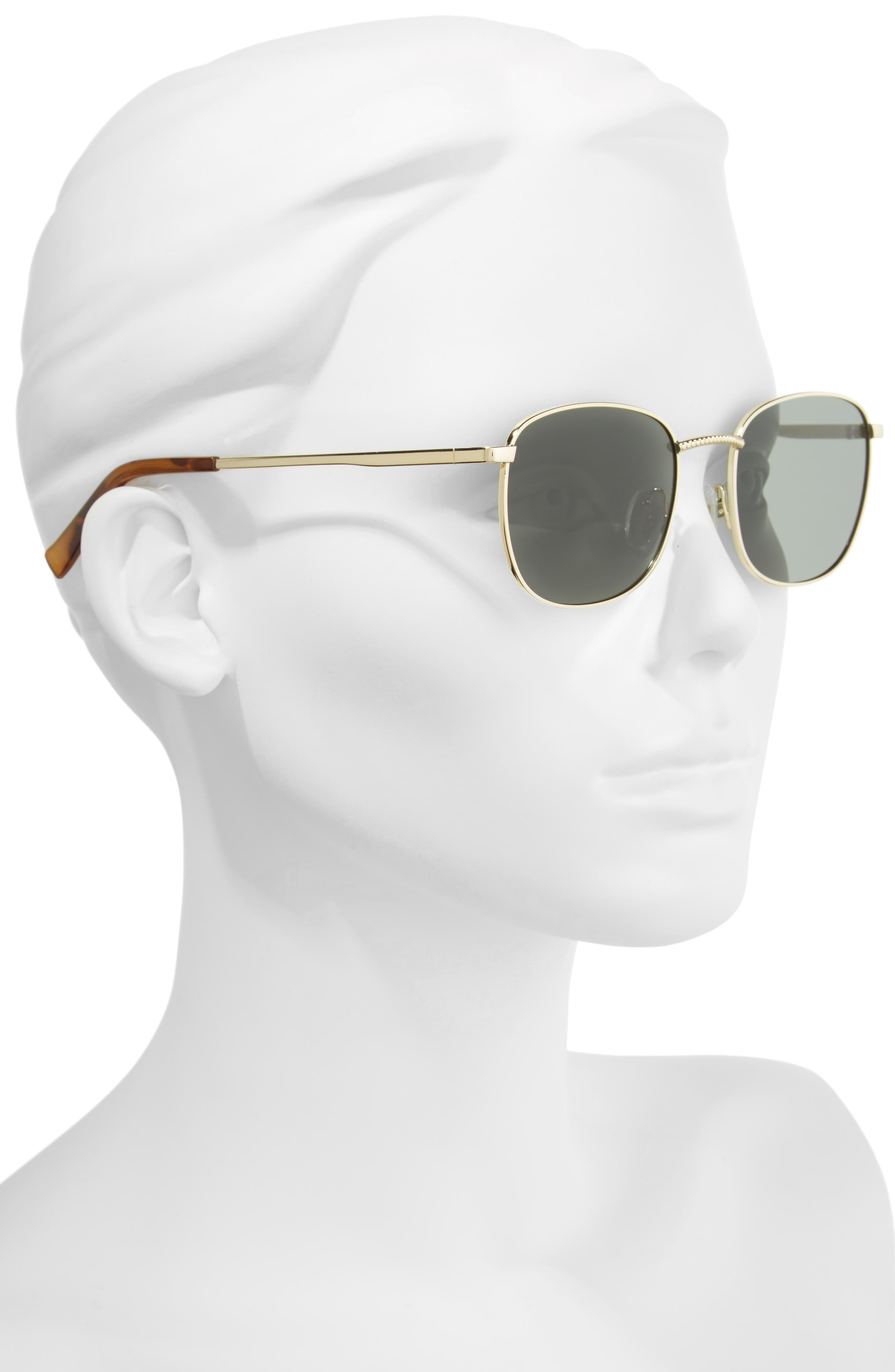 Neptune 49mm Sunglasses,                             Alternate thumbnail 2, color,                             BRIGHT GOLD