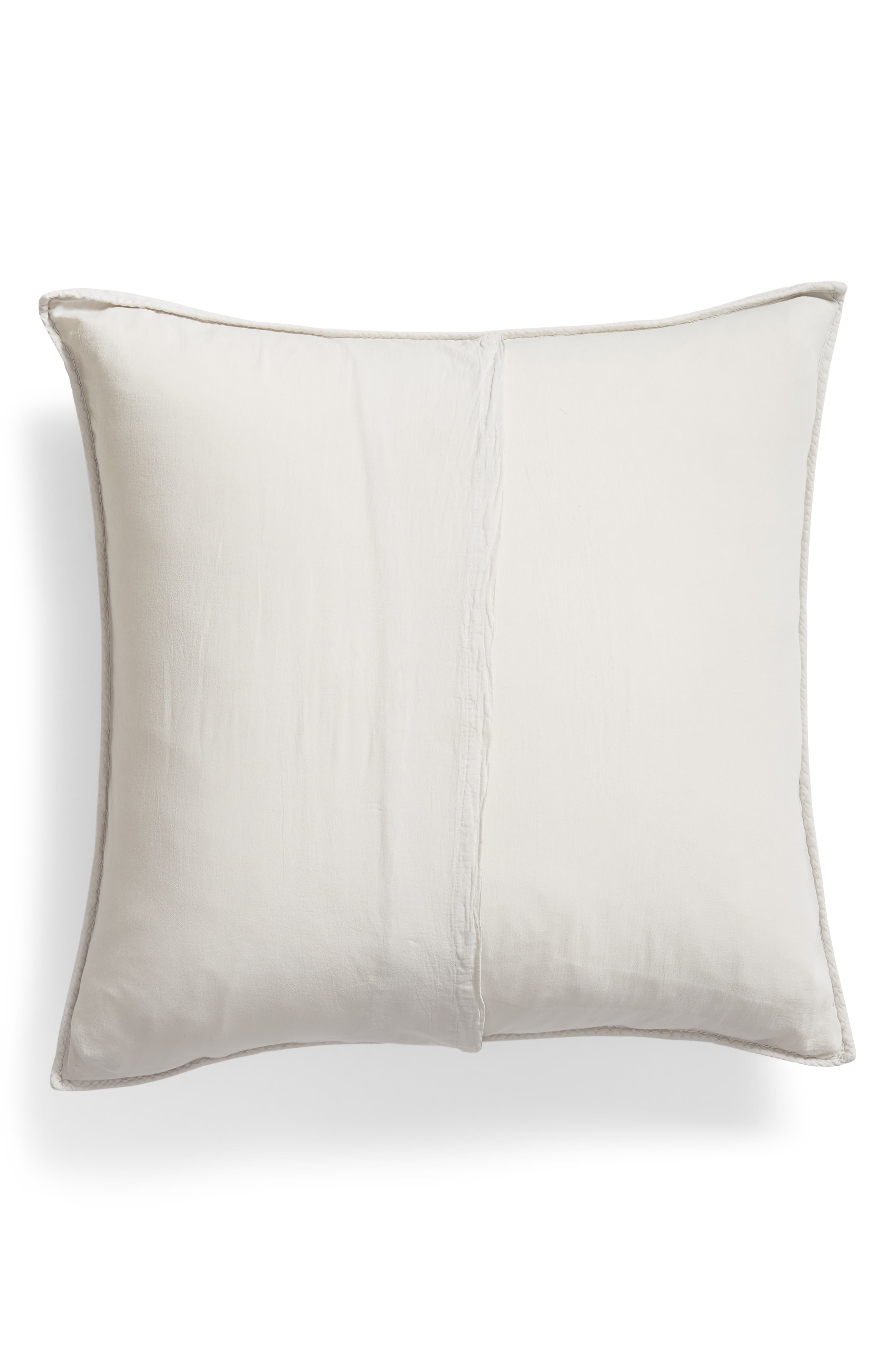 Karlina Quilted Euro Sham,                             Alternate thumbnail 2, color,                             GREY VAPOR