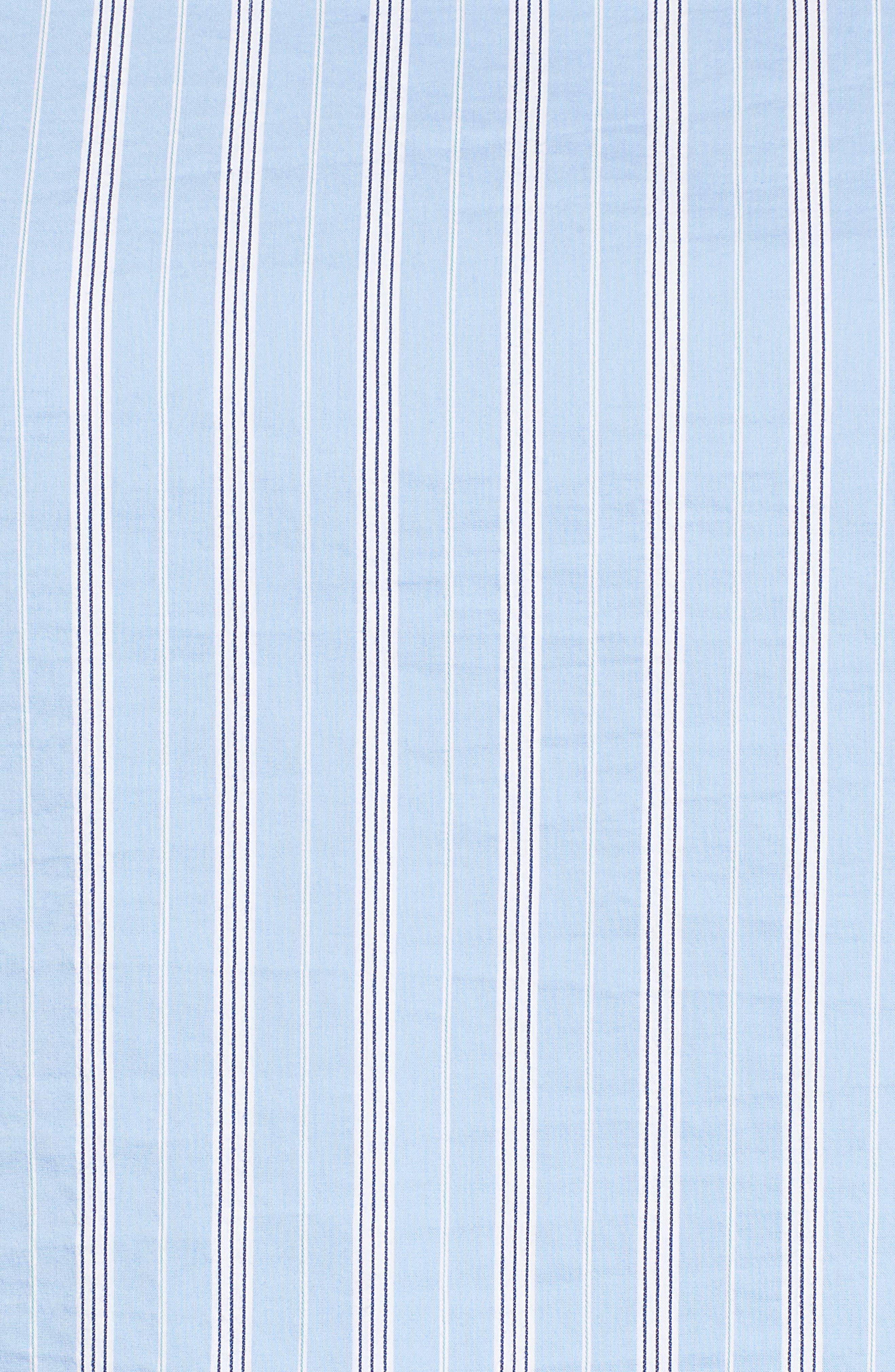 Tie Sleeve Stripe Top,                             Alternate thumbnail 5, color,                             420