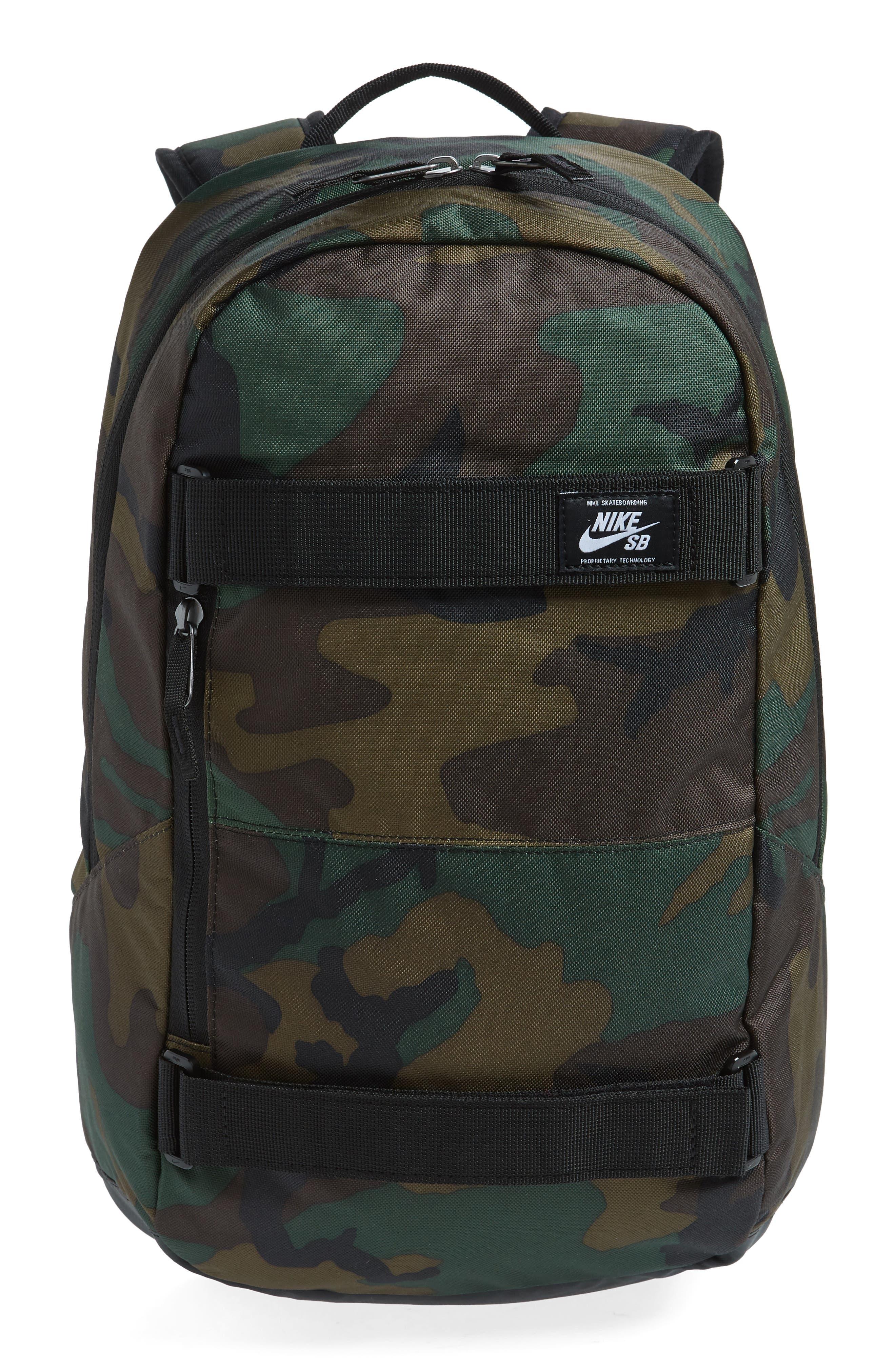 NIKE SB Courthouse Backpack, Main, color, IGUANA/ BLACK/ WHITE
