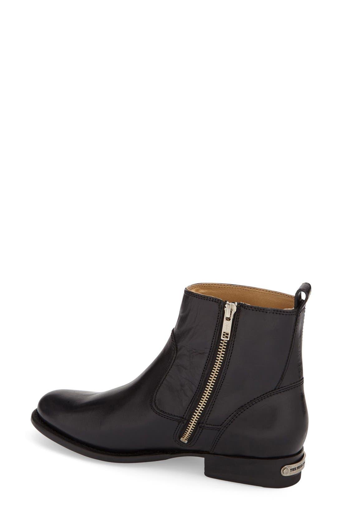 'Danielle' Ankle Boot,                             Alternate thumbnail 4, color,                             001