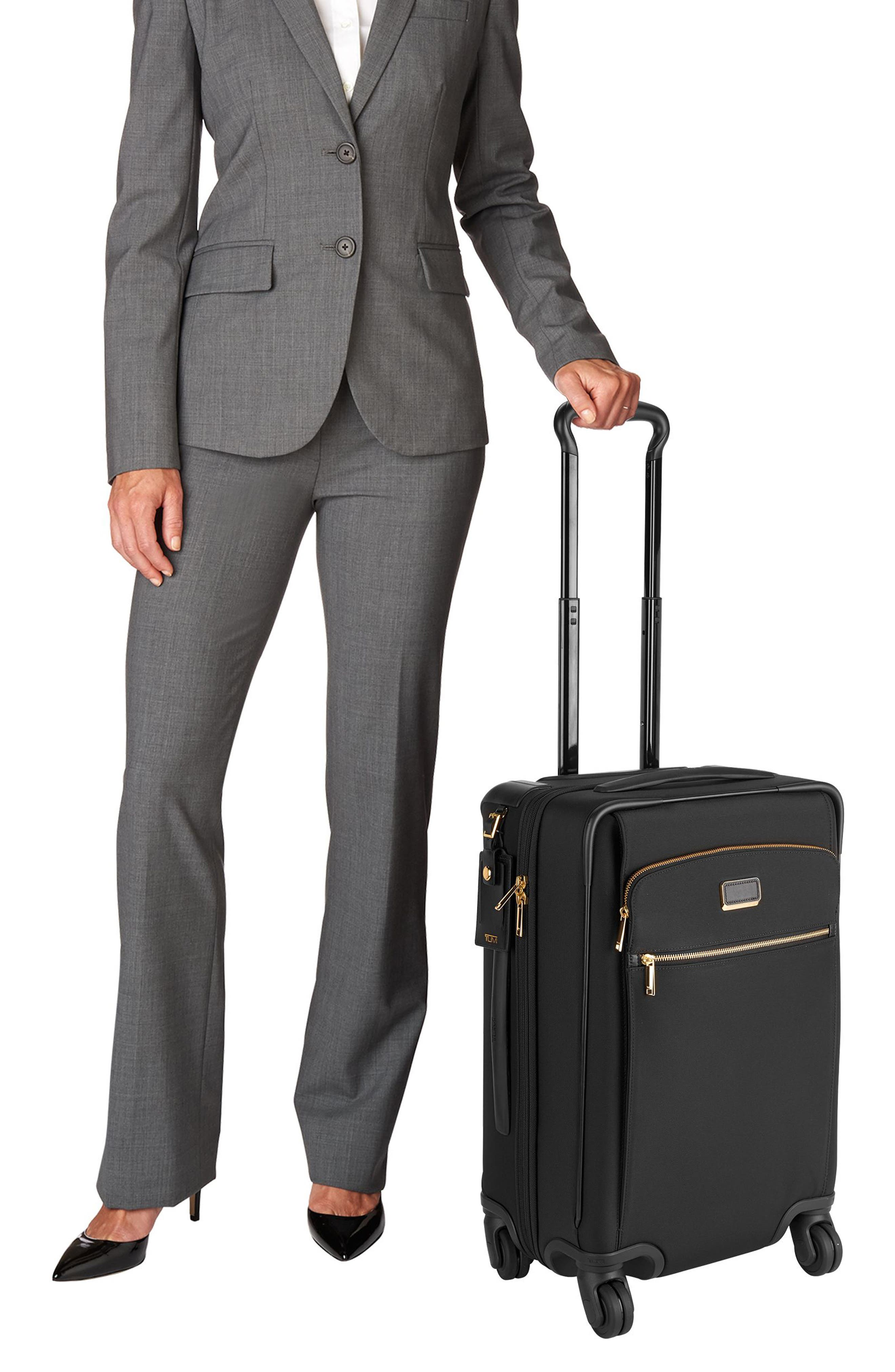 Sam International Expandable 22-Inch 4-Wheel Carry-On,                             Alternate thumbnail 2, color,                             001