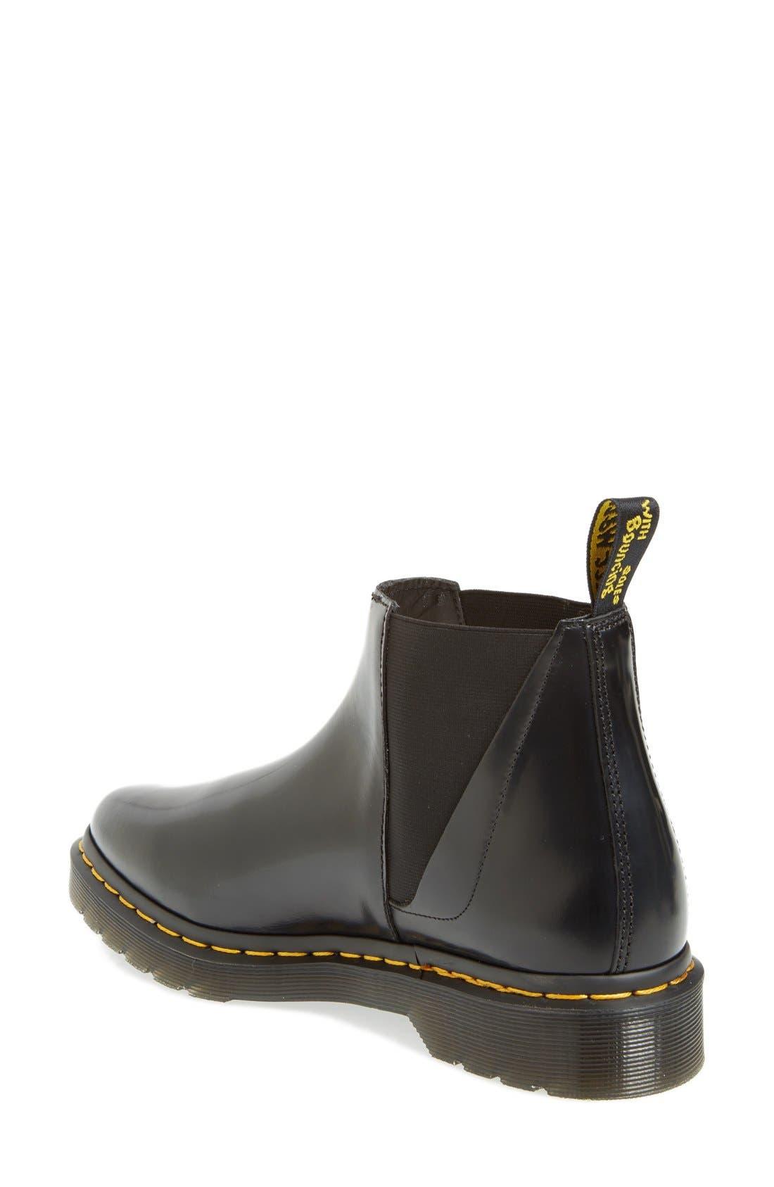 'Bianca' Chelsea Boot,                             Alternate thumbnail 2, color,                             001
