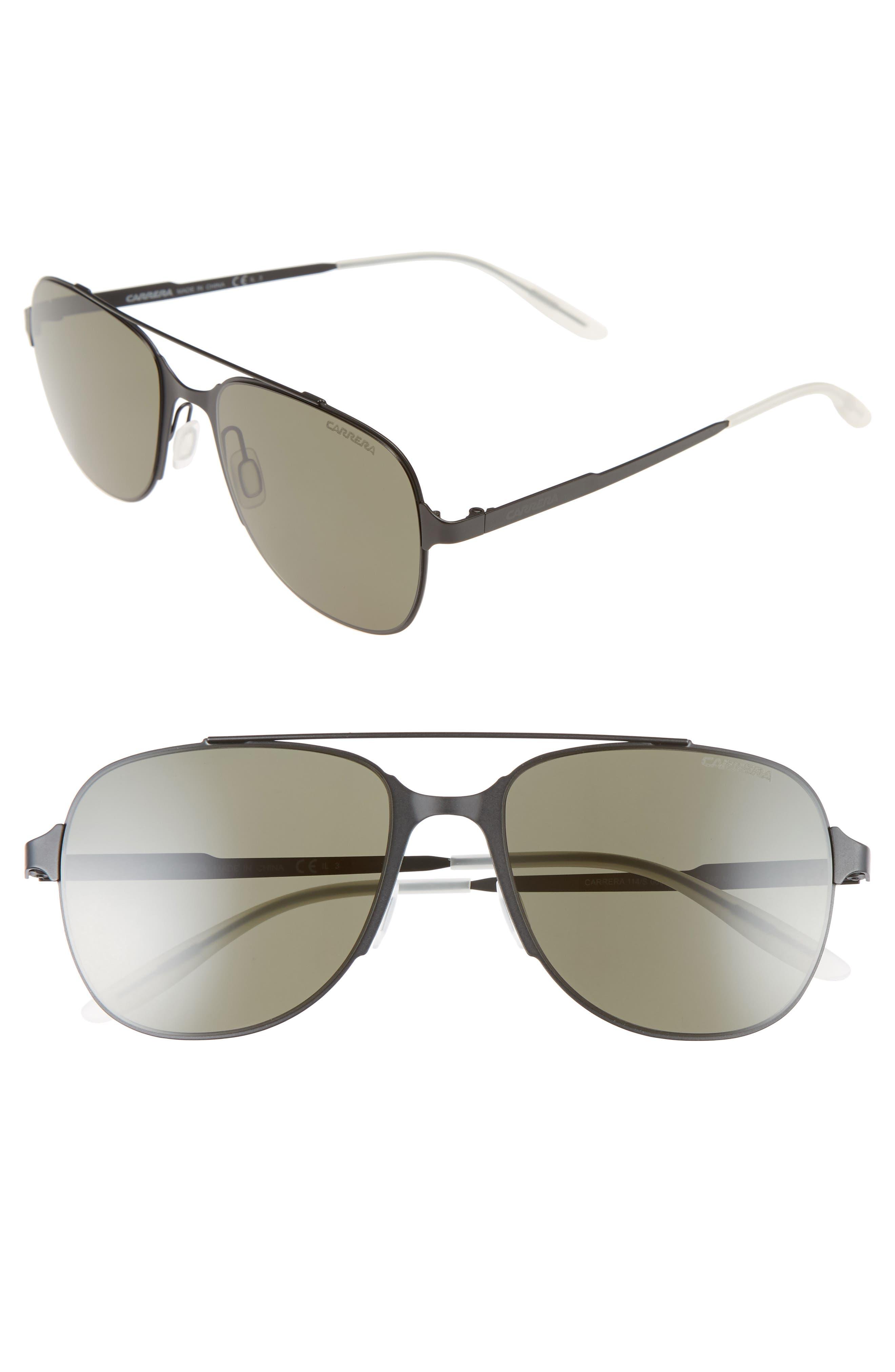 '114/S' 55mm Sunglasses,                             Main thumbnail 1, color,                             001