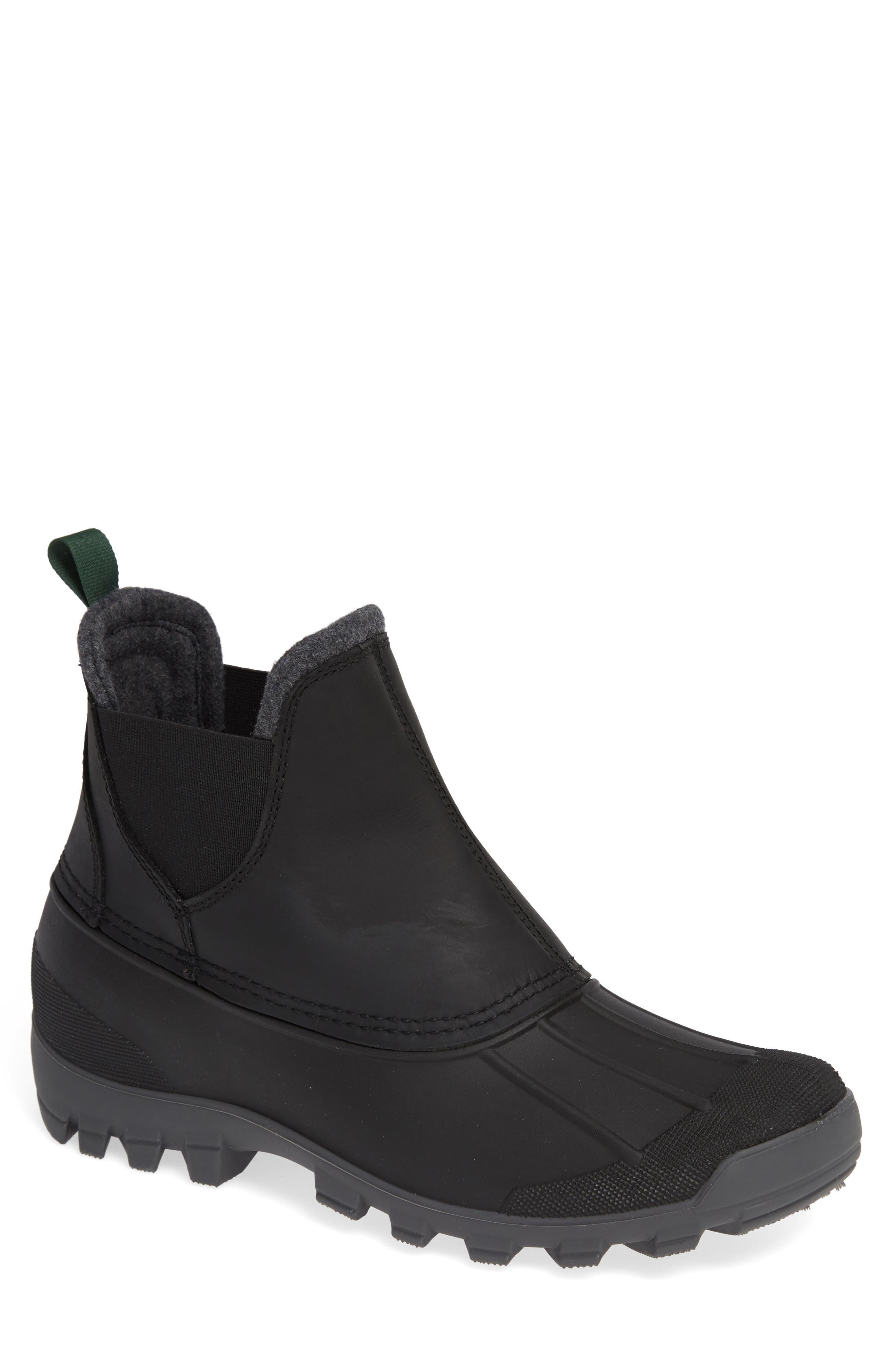 Hudson C Waterproof Winter Boot,                             Main thumbnail 1, color,                             001