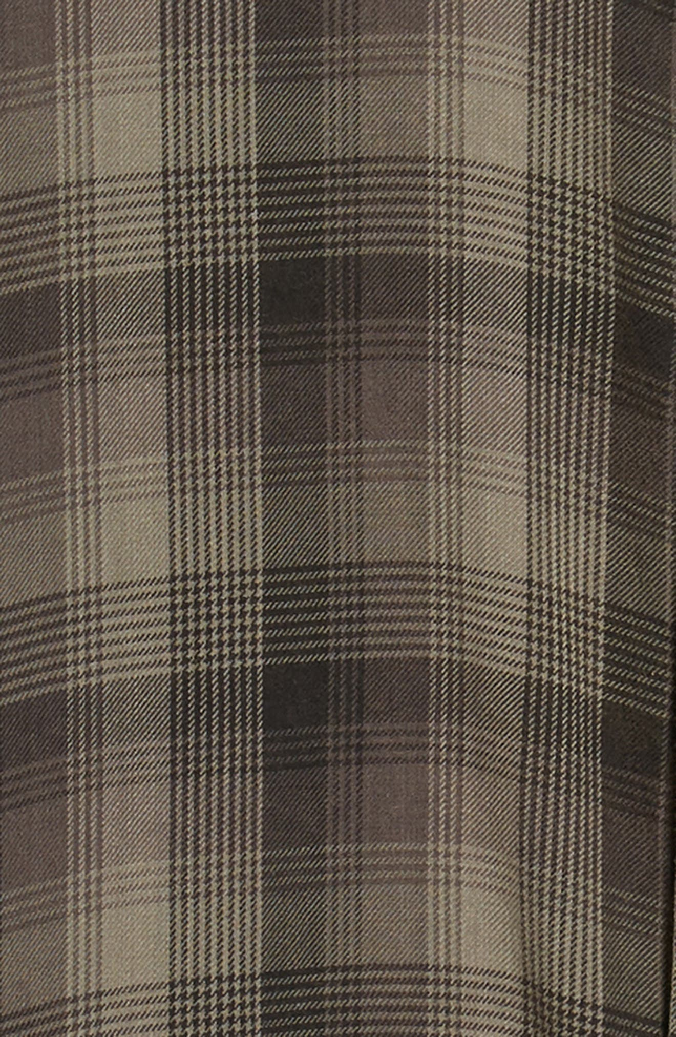 Freemont Flannel Shirt,                             Alternate thumbnail 6, color,                             CHARCOAL