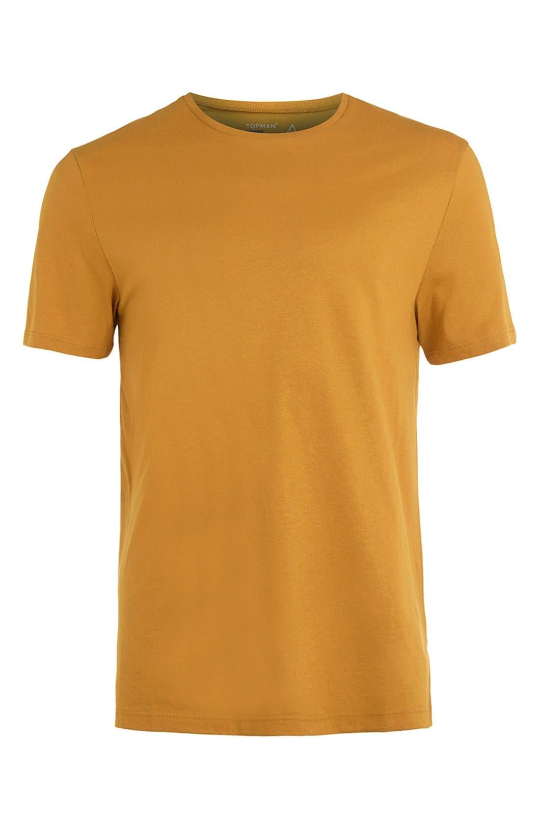 Slim Fit Crewneck T-Shirt,                             Alternate thumbnail 422, color,