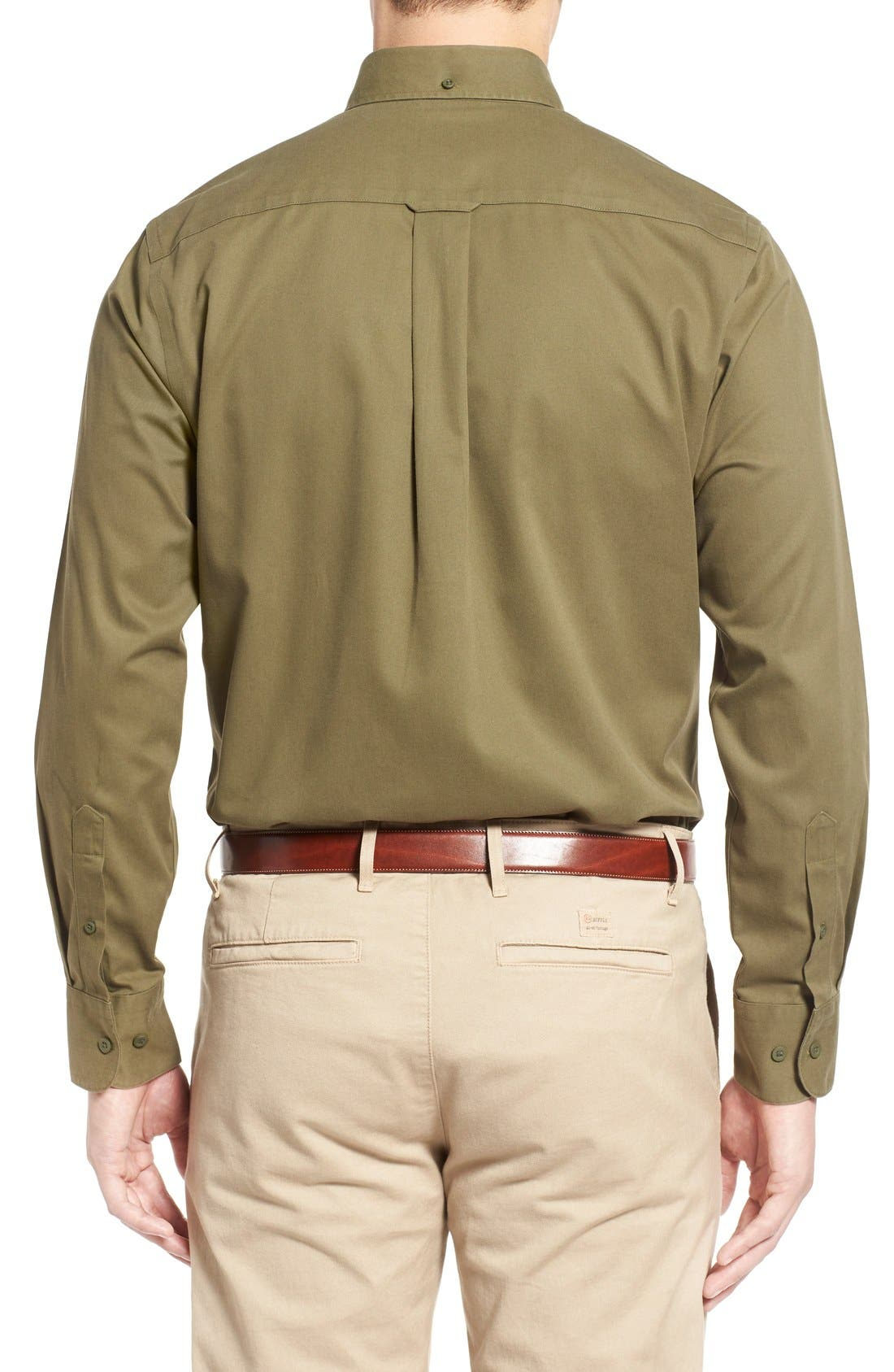 Smartcare<sup>™</sup> Traditional Fit Twill Boat Shirt,                             Alternate thumbnail 142, color,