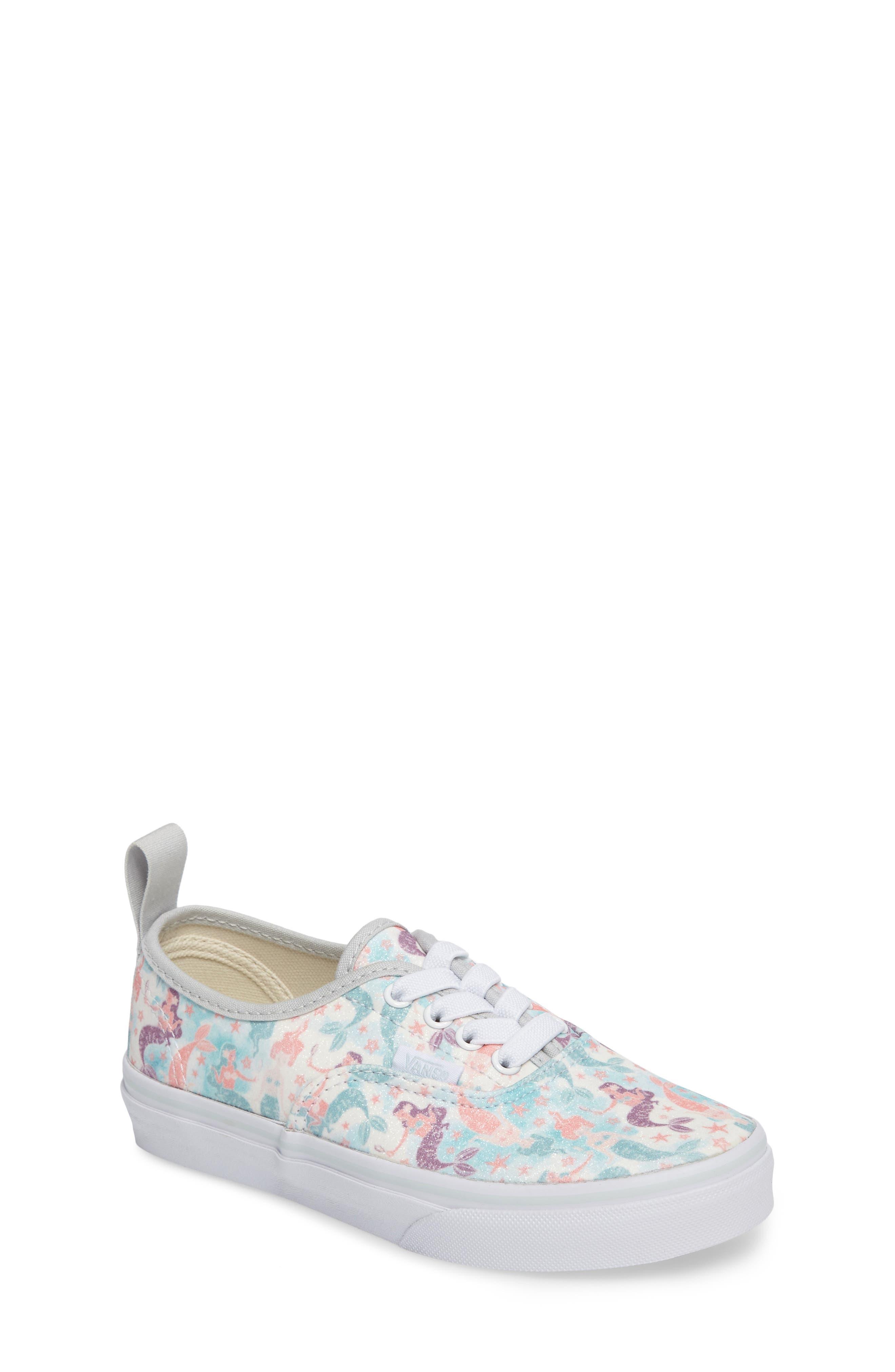 Authentic Elastic Lace Sneaker,                         Main,                         color, 300