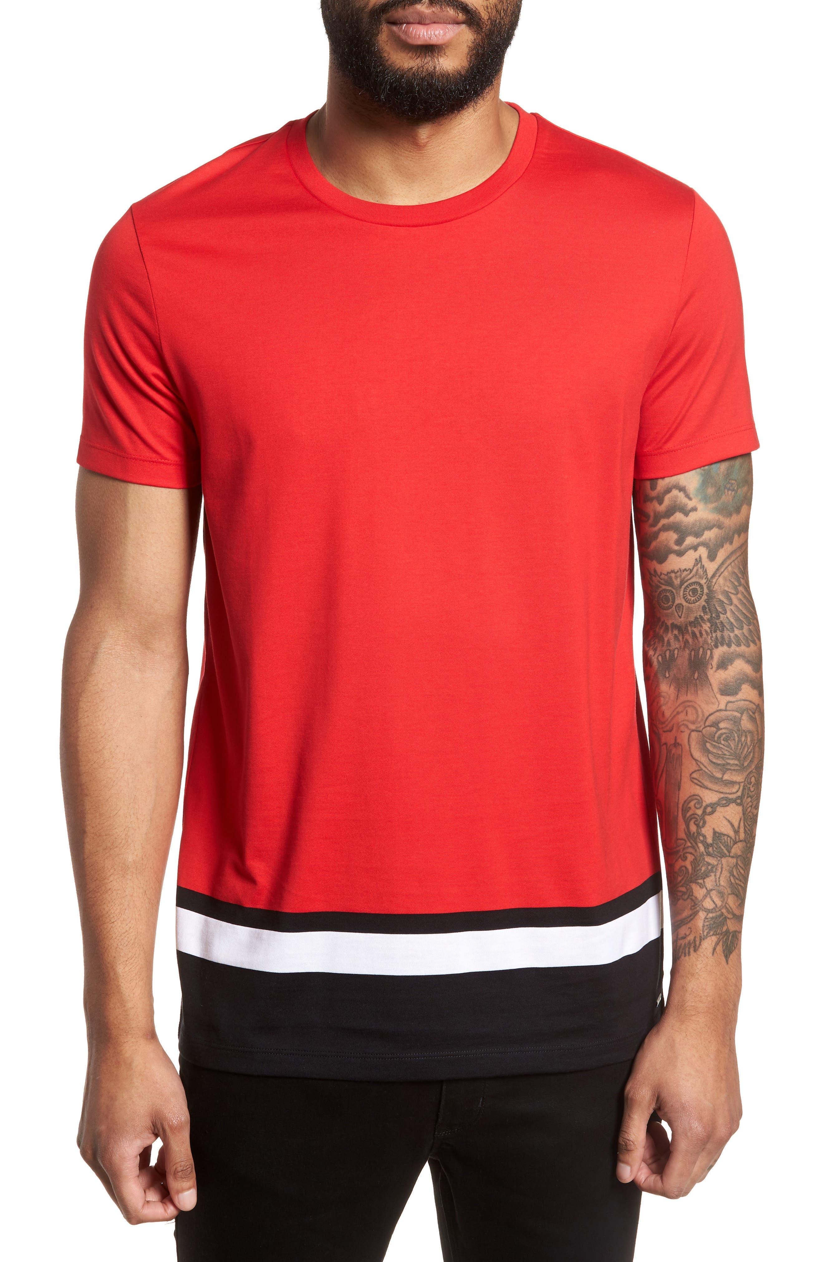 Tiburt Colorblock T-Shirt,                             Main thumbnail 2, color,