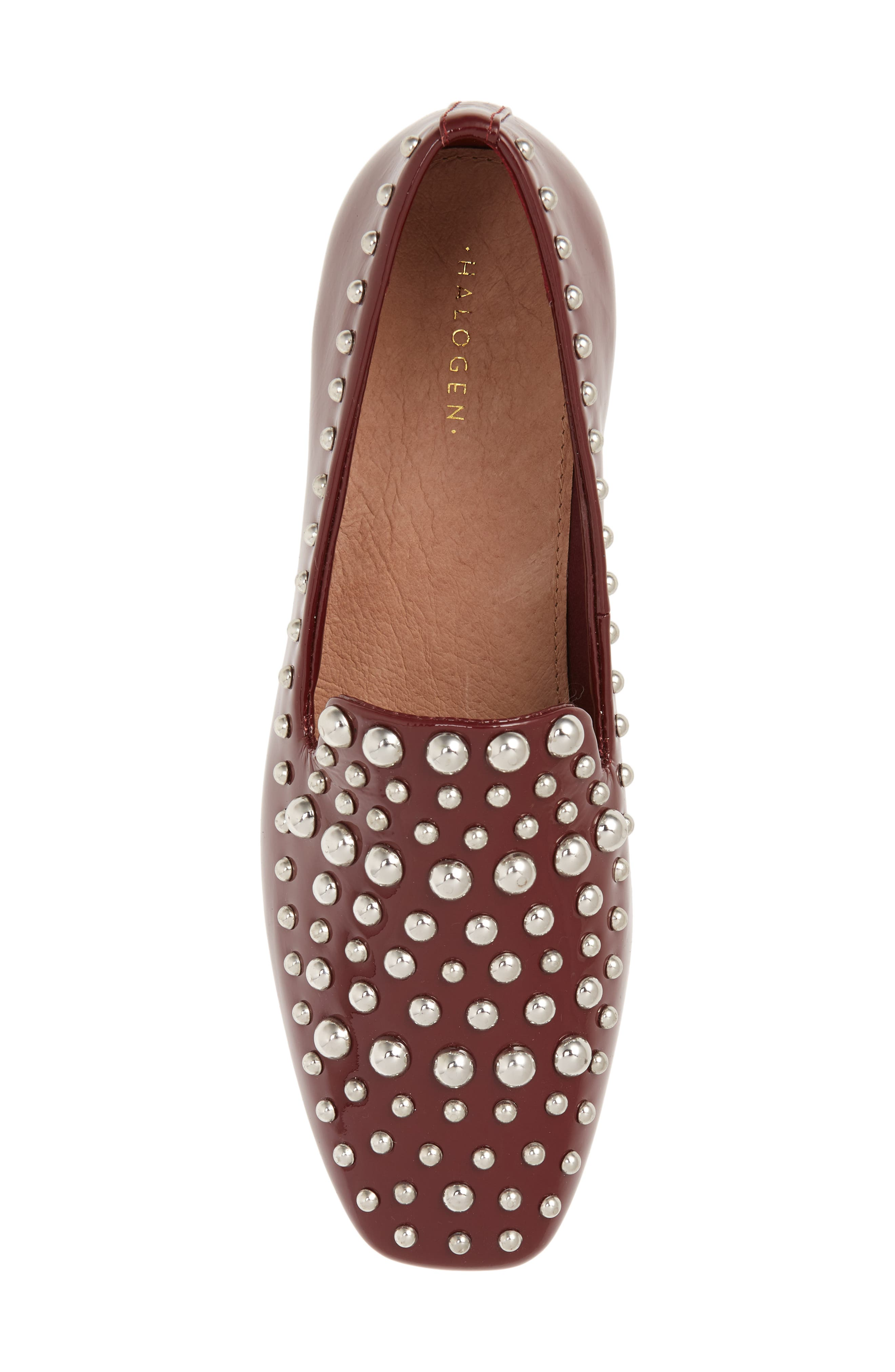 Kaylee Loafer,                             Alternate thumbnail 5, color,                             BERRY PATENT LEATHER