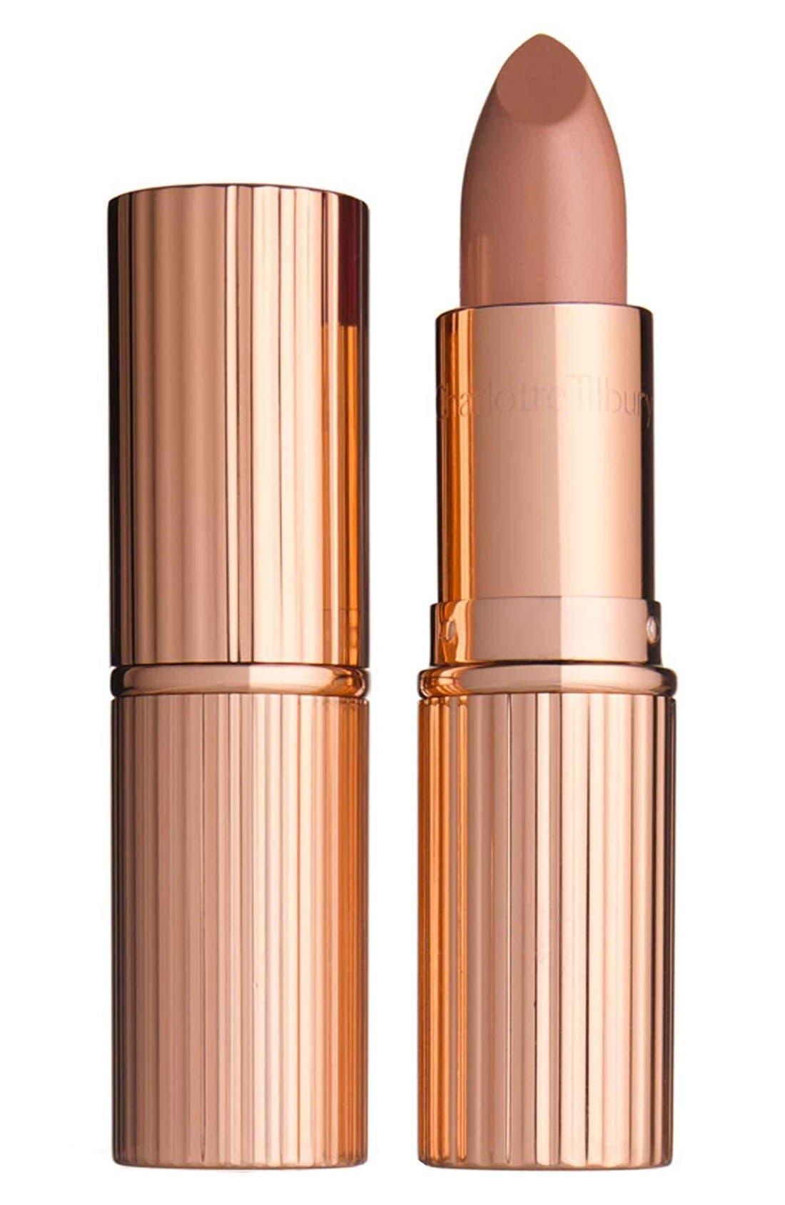 K.I.S.S.I.N.G Lipstick,                             Main thumbnail 1, color,                             HEPBURN HONEY