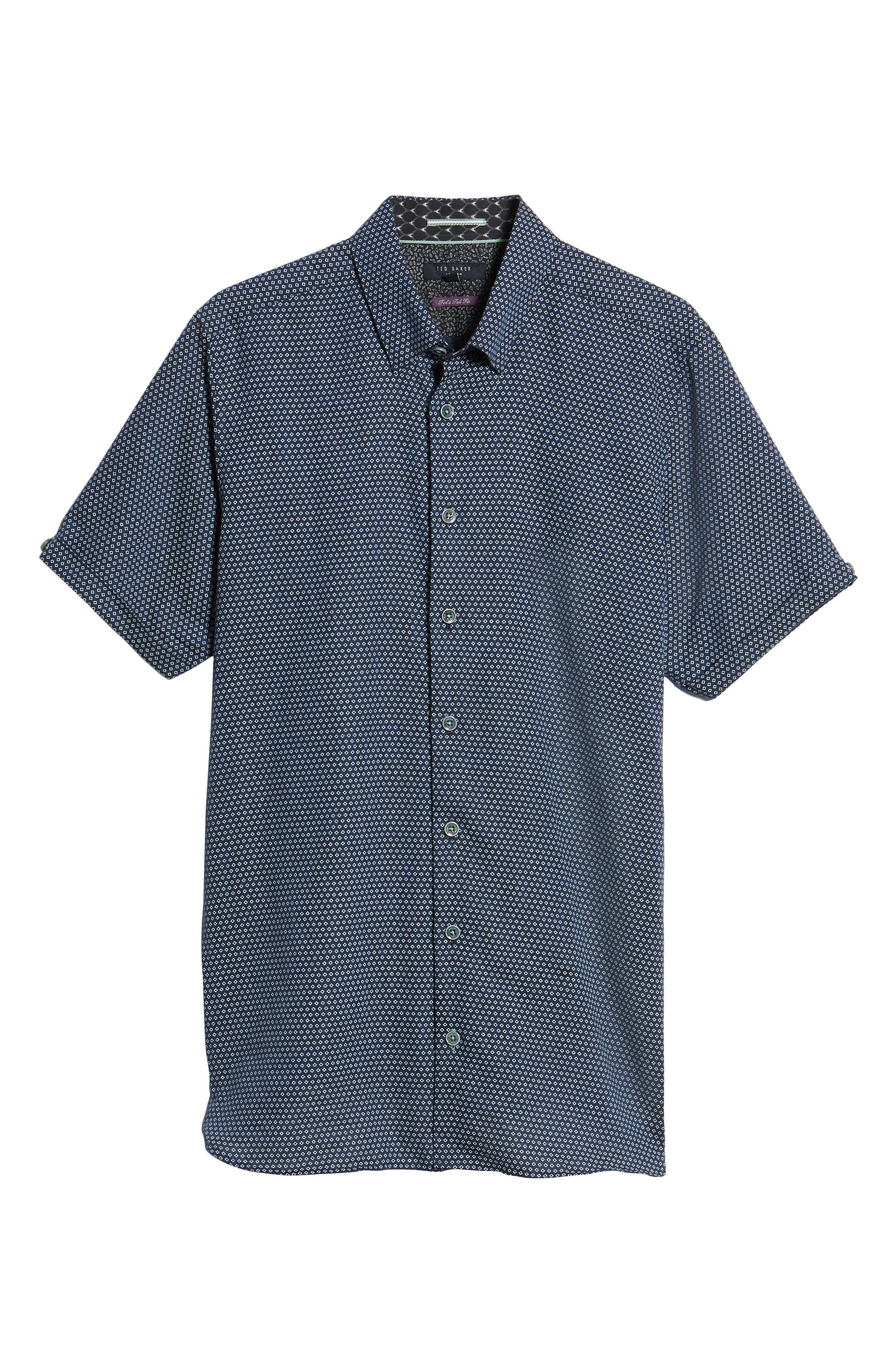 Sirobtt Short Sleeve Sport Shirt,                             Alternate thumbnail 12, color,