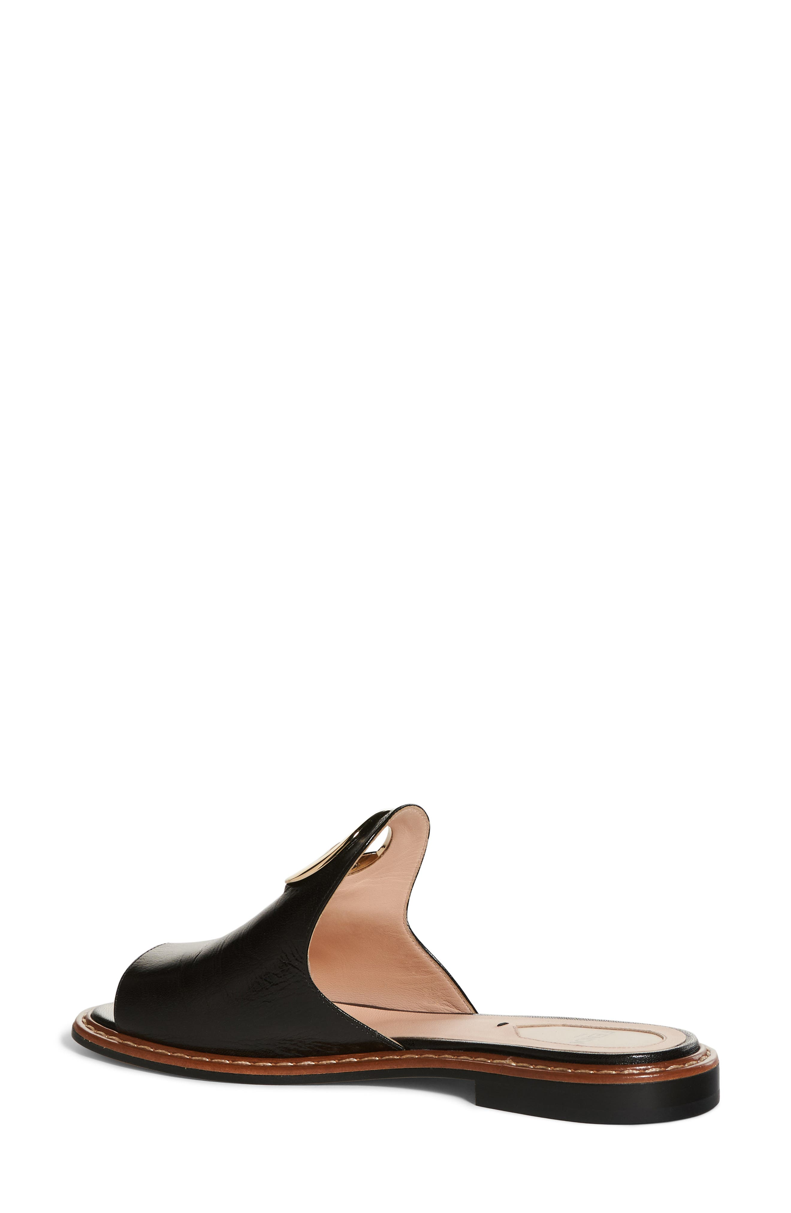 F Is For Fendi Open Toe Mule,                             Alternate thumbnail 2, color,
