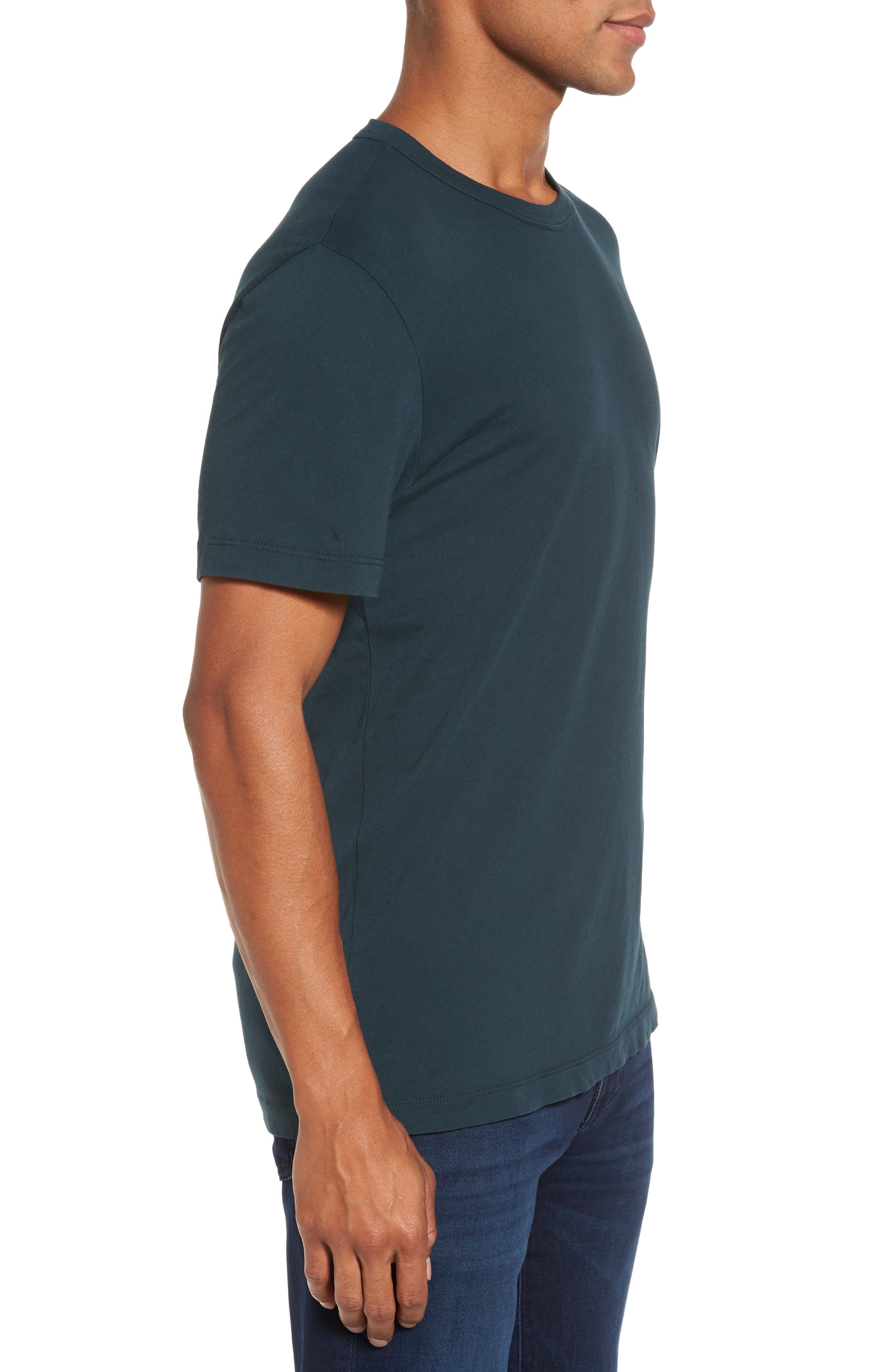 Crewneck Jersey T-Shirt,                             Alternate thumbnail 322, color,