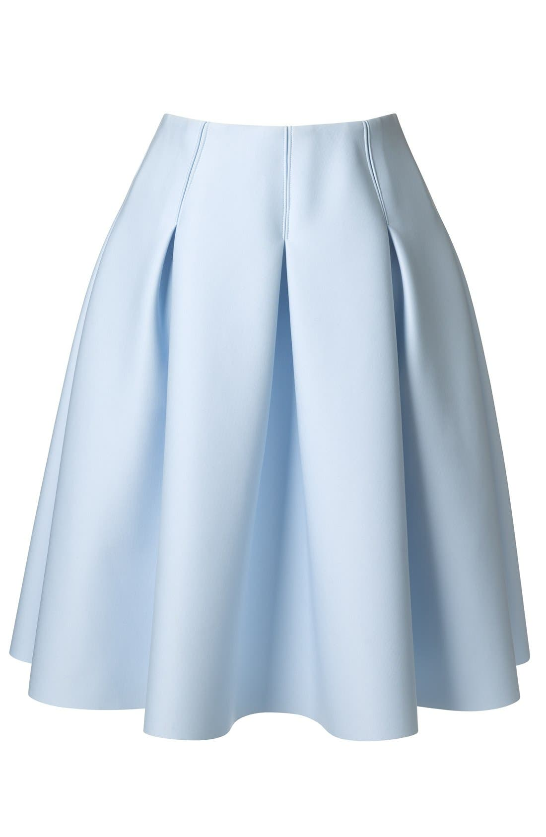 1.STATE,                             Pleated Jersey Skirt,                             Alternate thumbnail 4, color,                             400