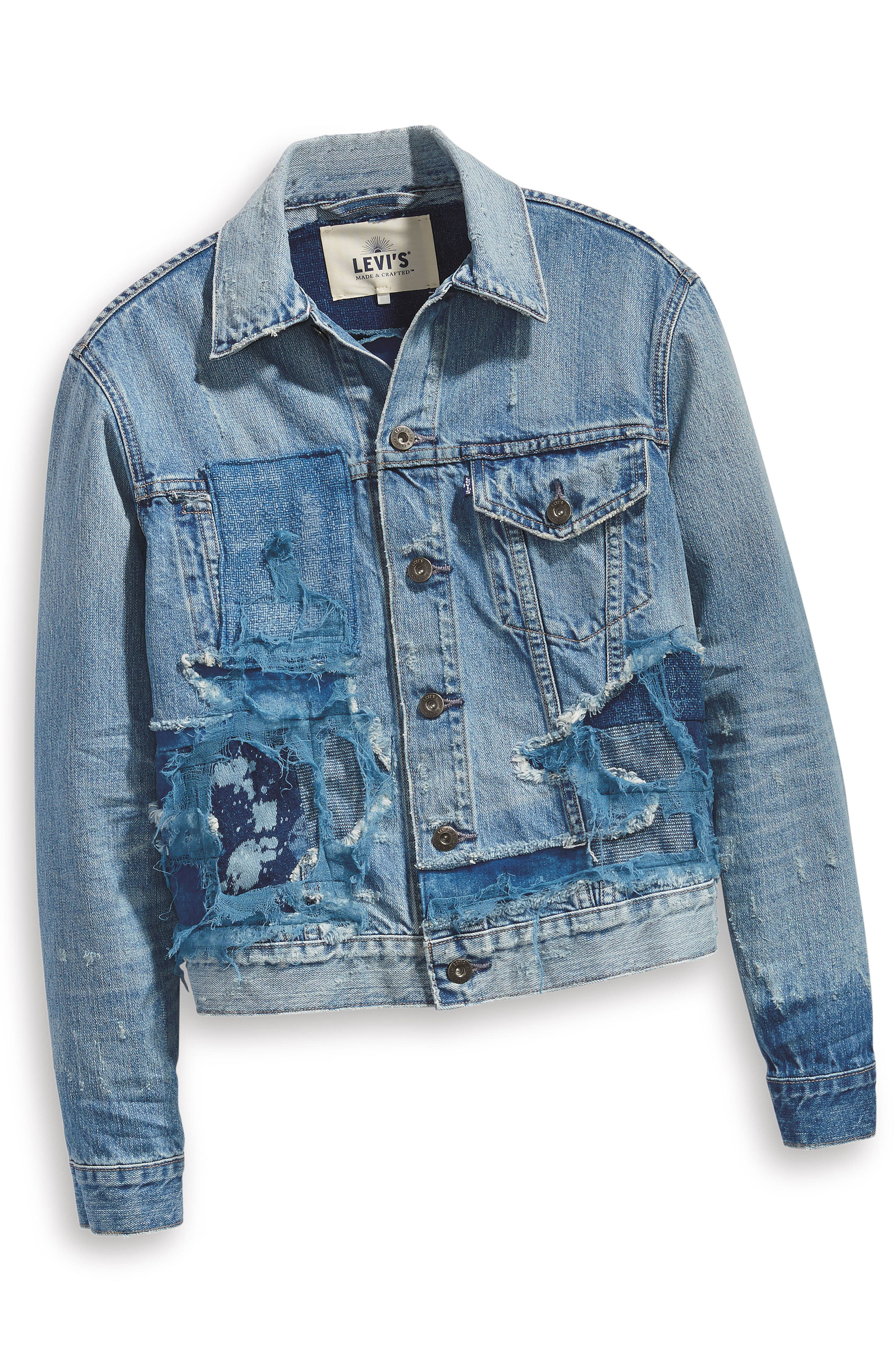 Made & Crafted<sup>™</sup> Boyfriend Trucker Jacket,                             Alternate thumbnail 8, color,                             400