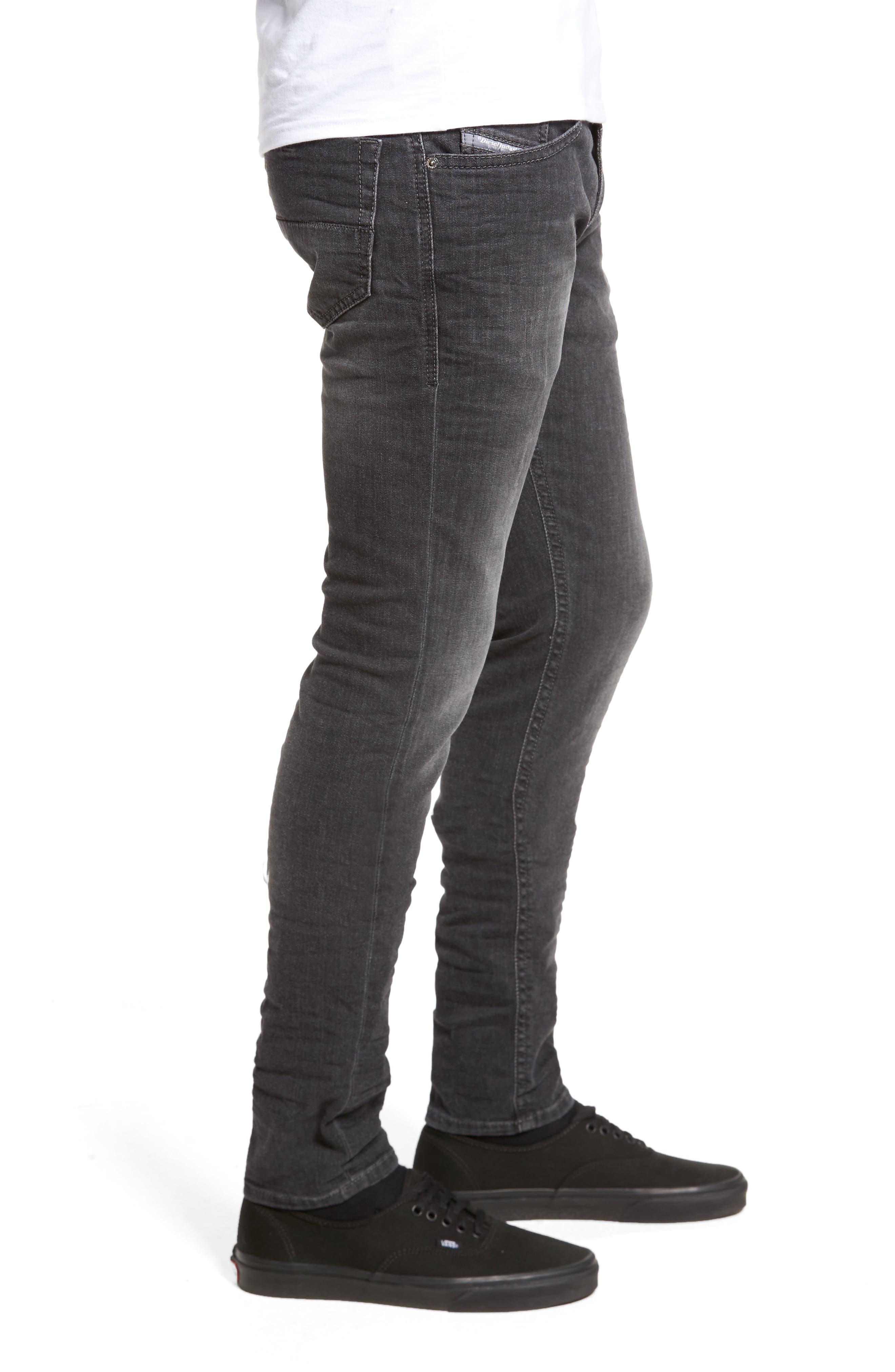 Thommer Slim Fit Jeans,                             Alternate thumbnail 3, color,                             001