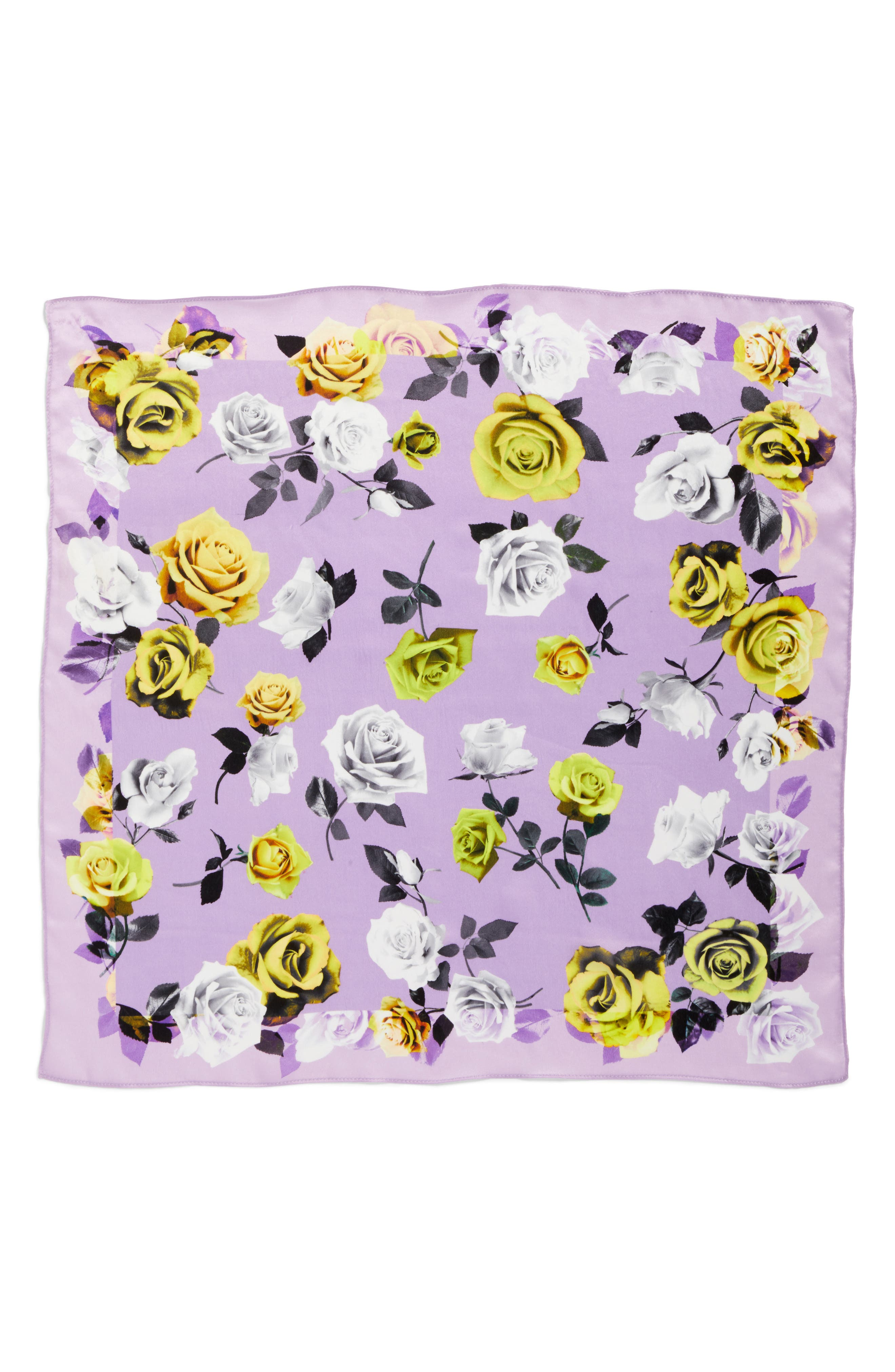 Print Silk Scarf,                             Alternate thumbnail 20, color,
