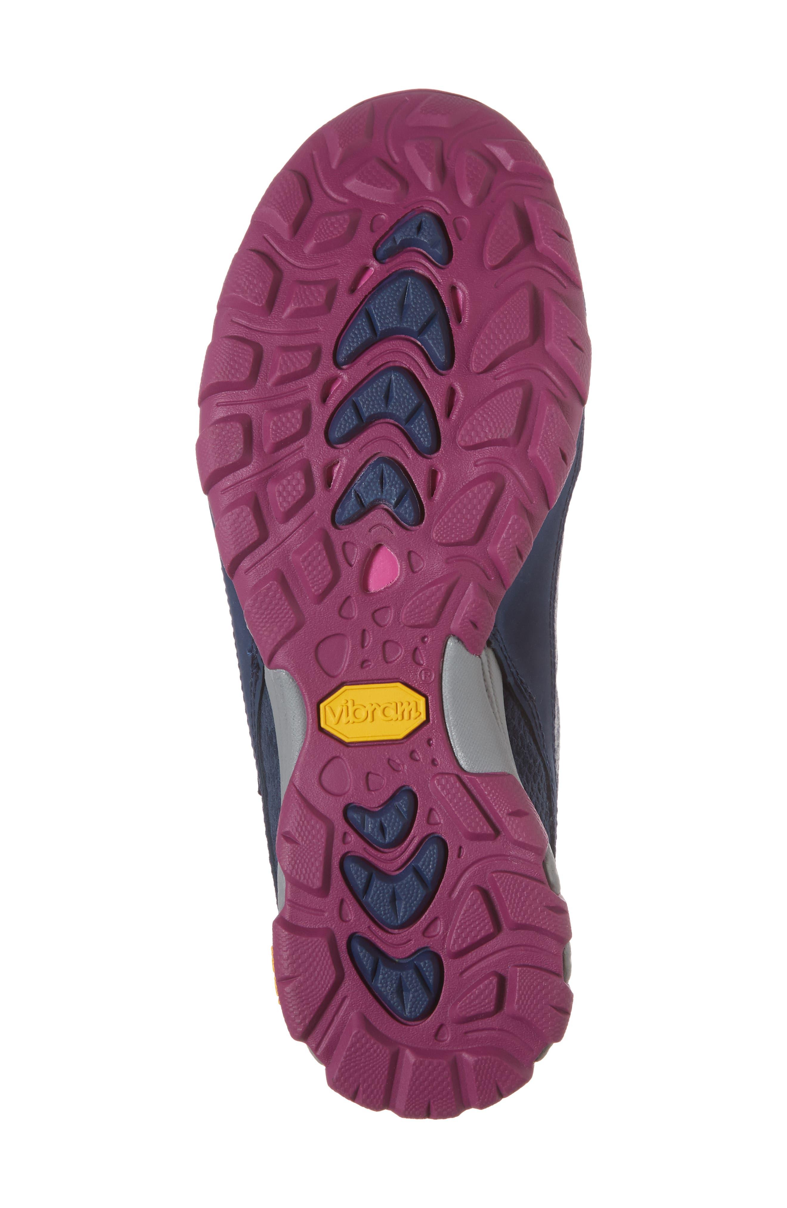 Ahnu by Teva Sugarpine II Waterproof Hiking Sneaker,                             Alternate thumbnail 6, color,                             INSIGNIA BLUE