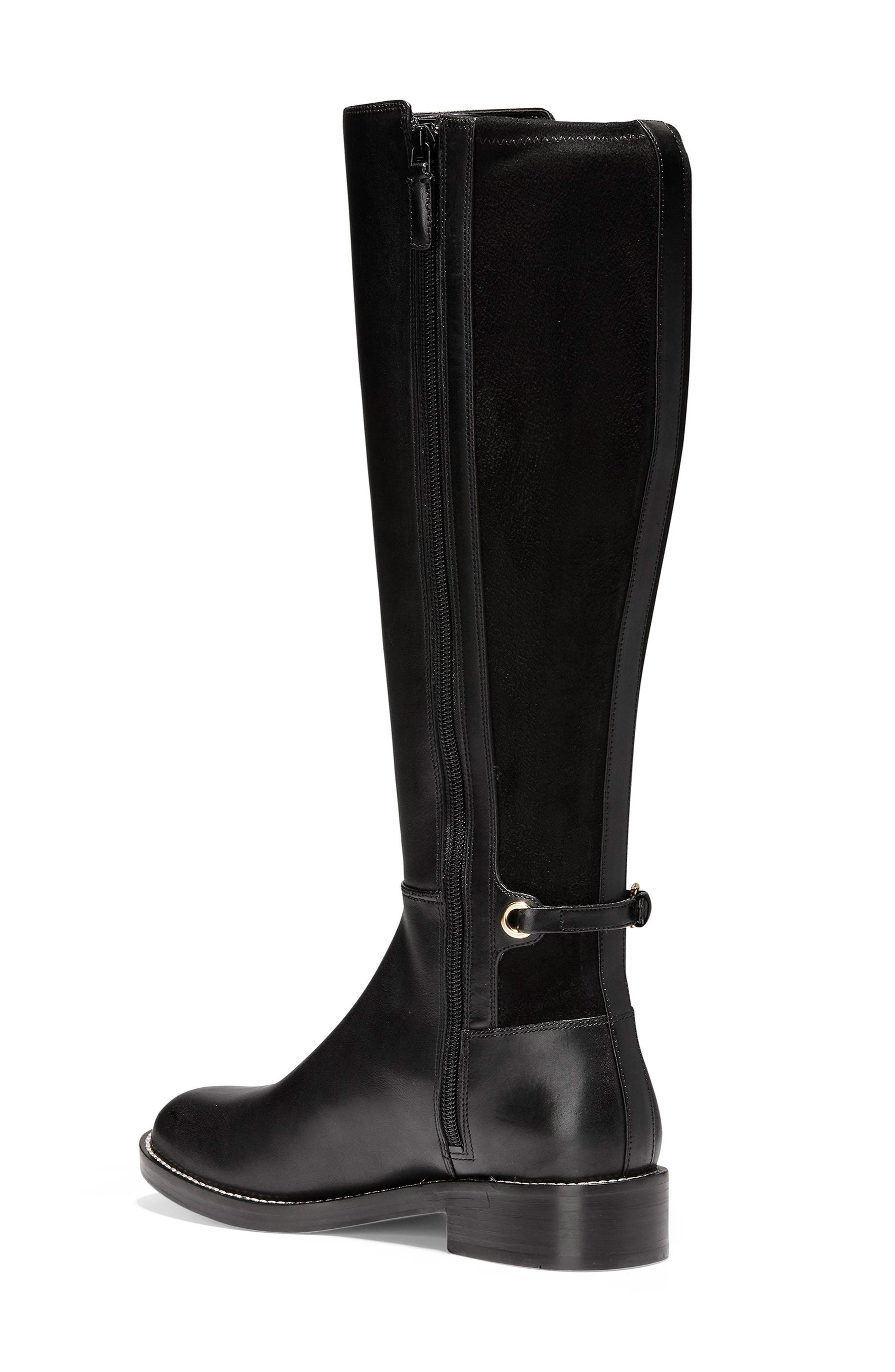 Parker Grand Stretch Knee High Boot,                             Alternate thumbnail 2, color,                             001
