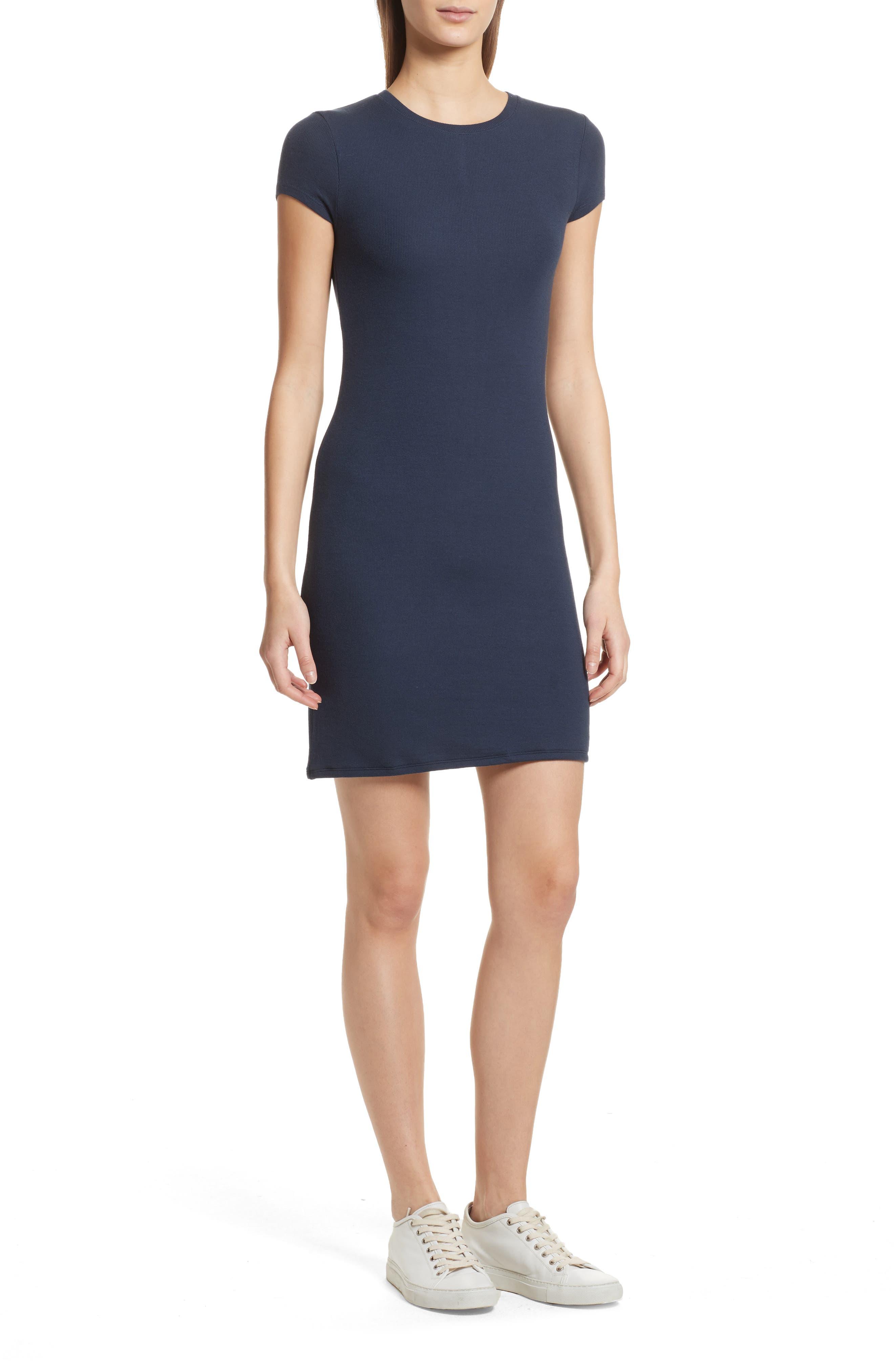 Knit Stretch Modal Dress,                             Main thumbnail 1, color,
