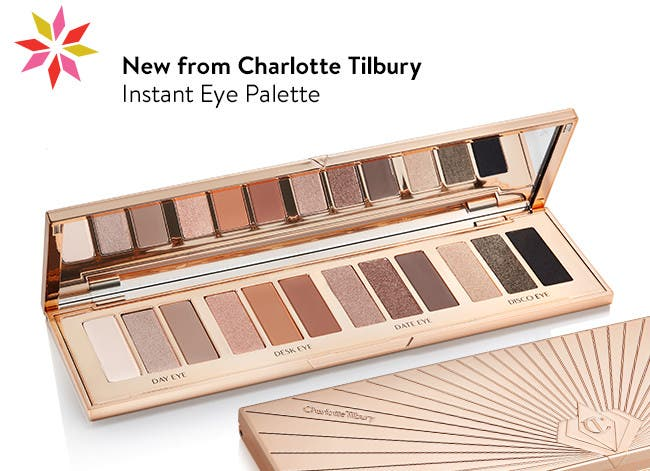 New Instant Eye Palette from Charlotte Tilbury.