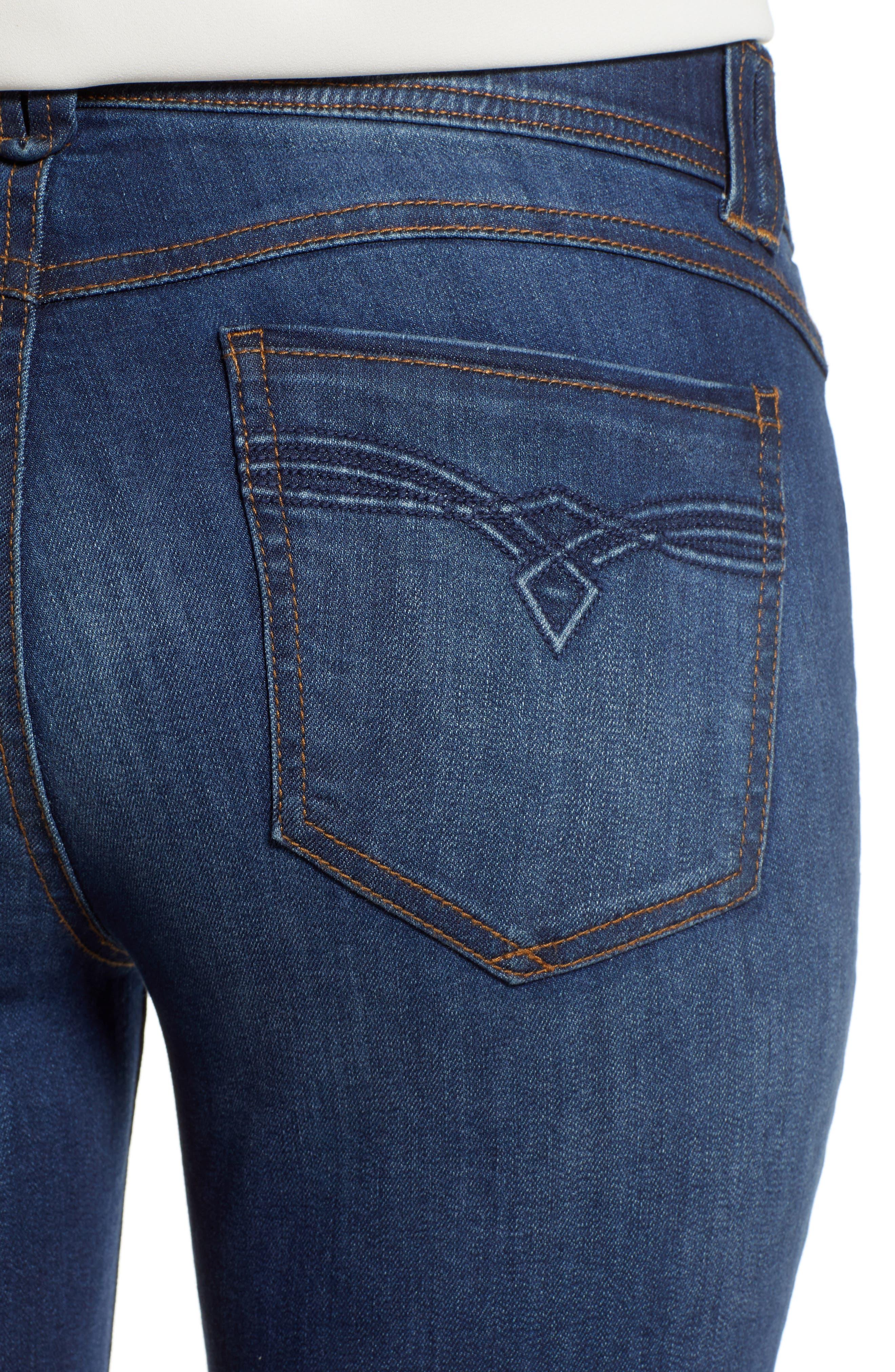 Ab-solution Luxe Touch Premium Jeans,                             Alternate thumbnail 4, color,                             420
