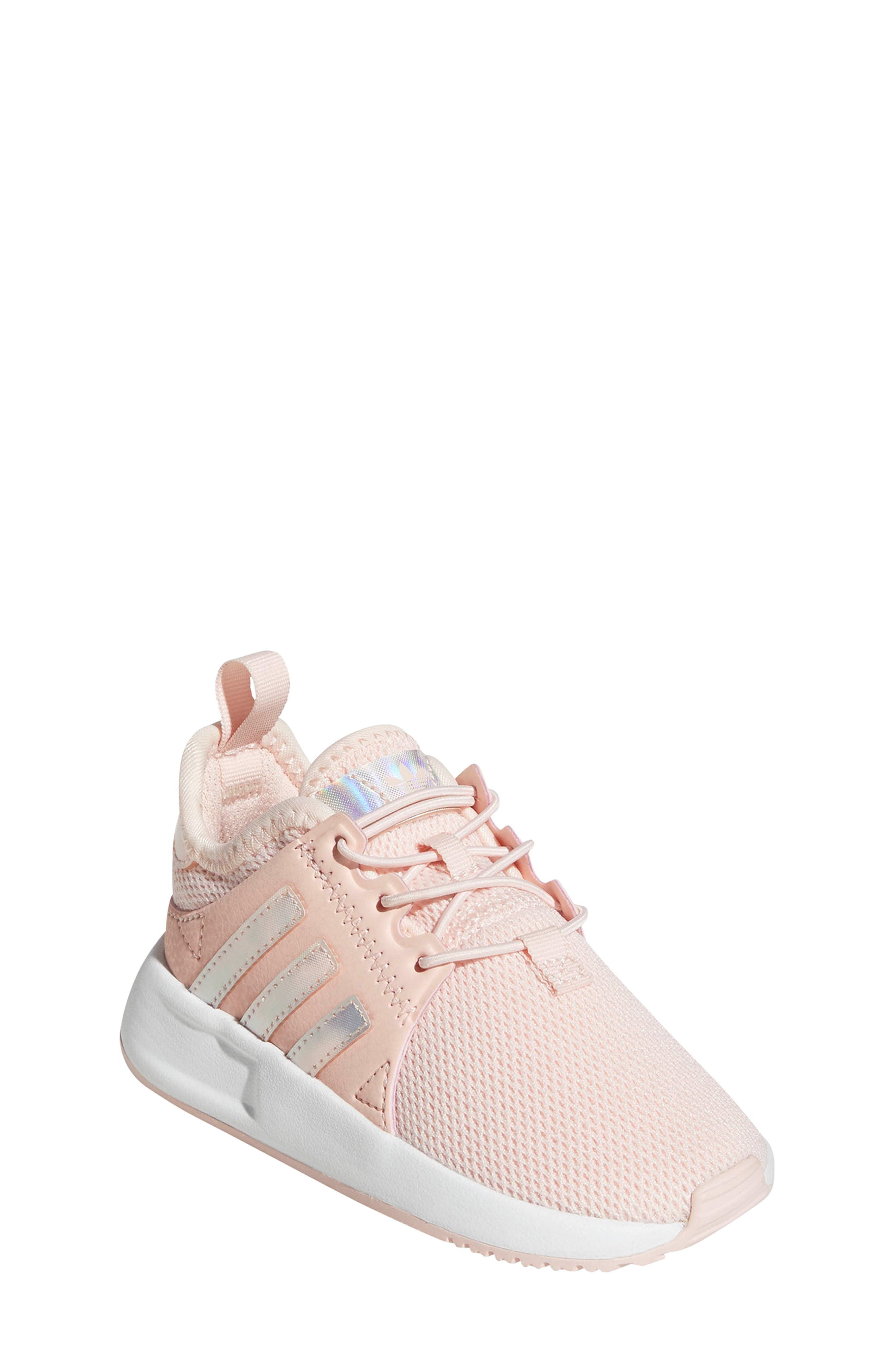 X_PLR Sneaker,                         Main,                         color, ICE PINK/ WHITE