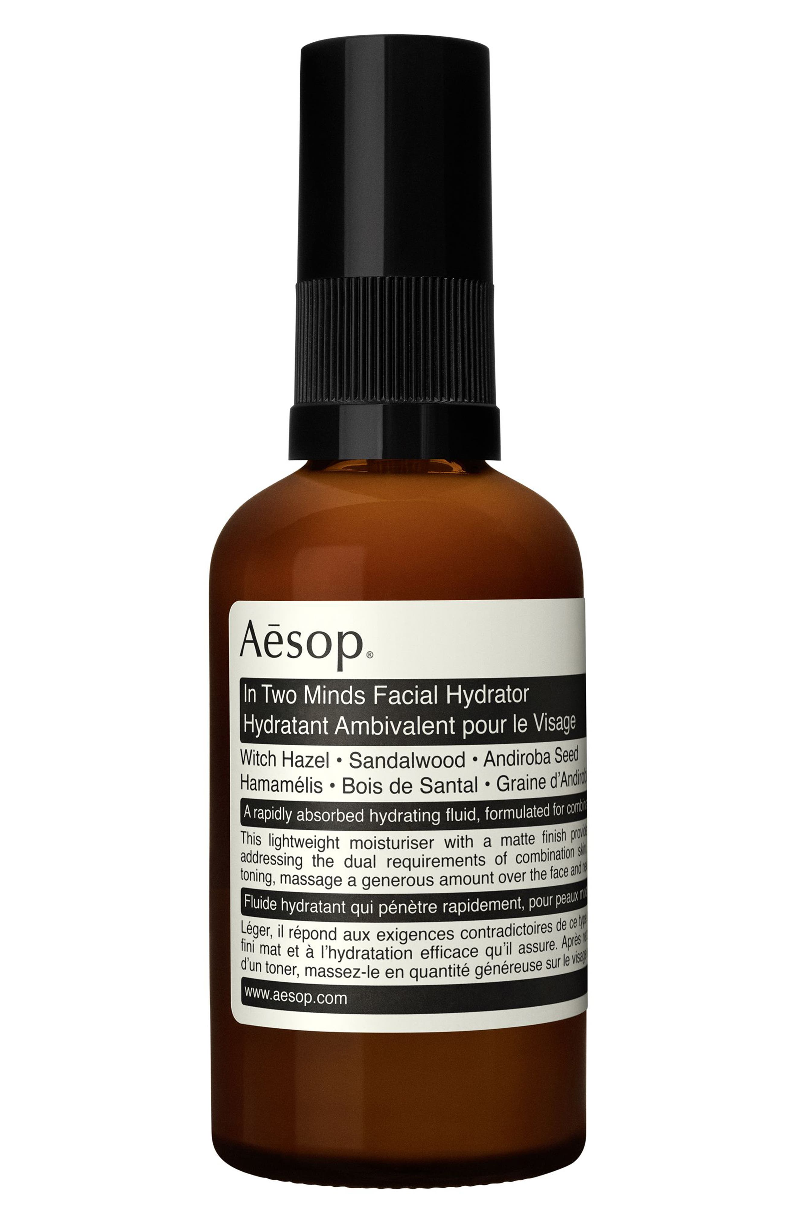 AESOP,                             In Two Minds Facial Hydrator,                             Main thumbnail 1, color,                             NO COLOR