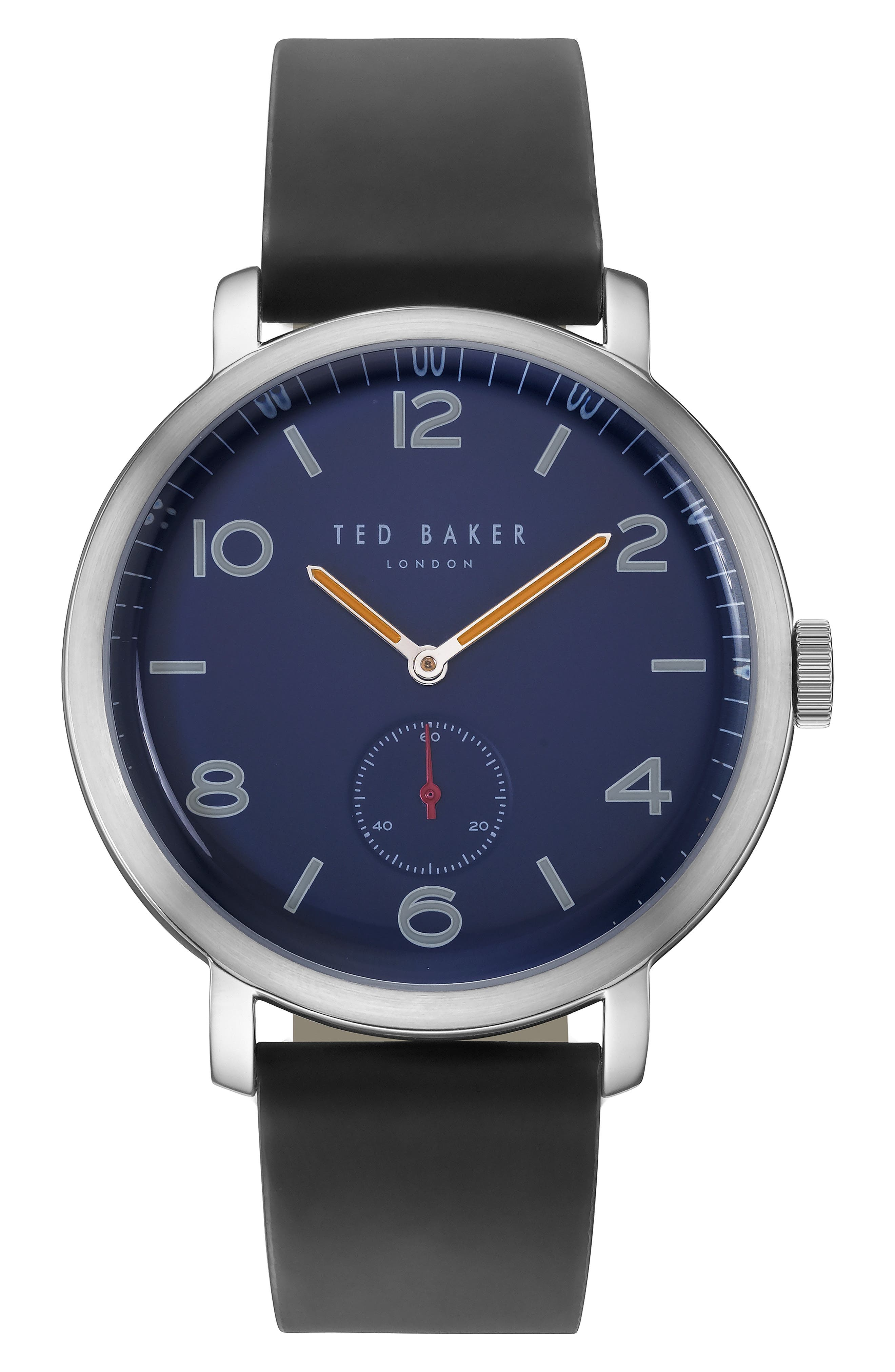 Ted Baker London Leather Strap Watch, 4m