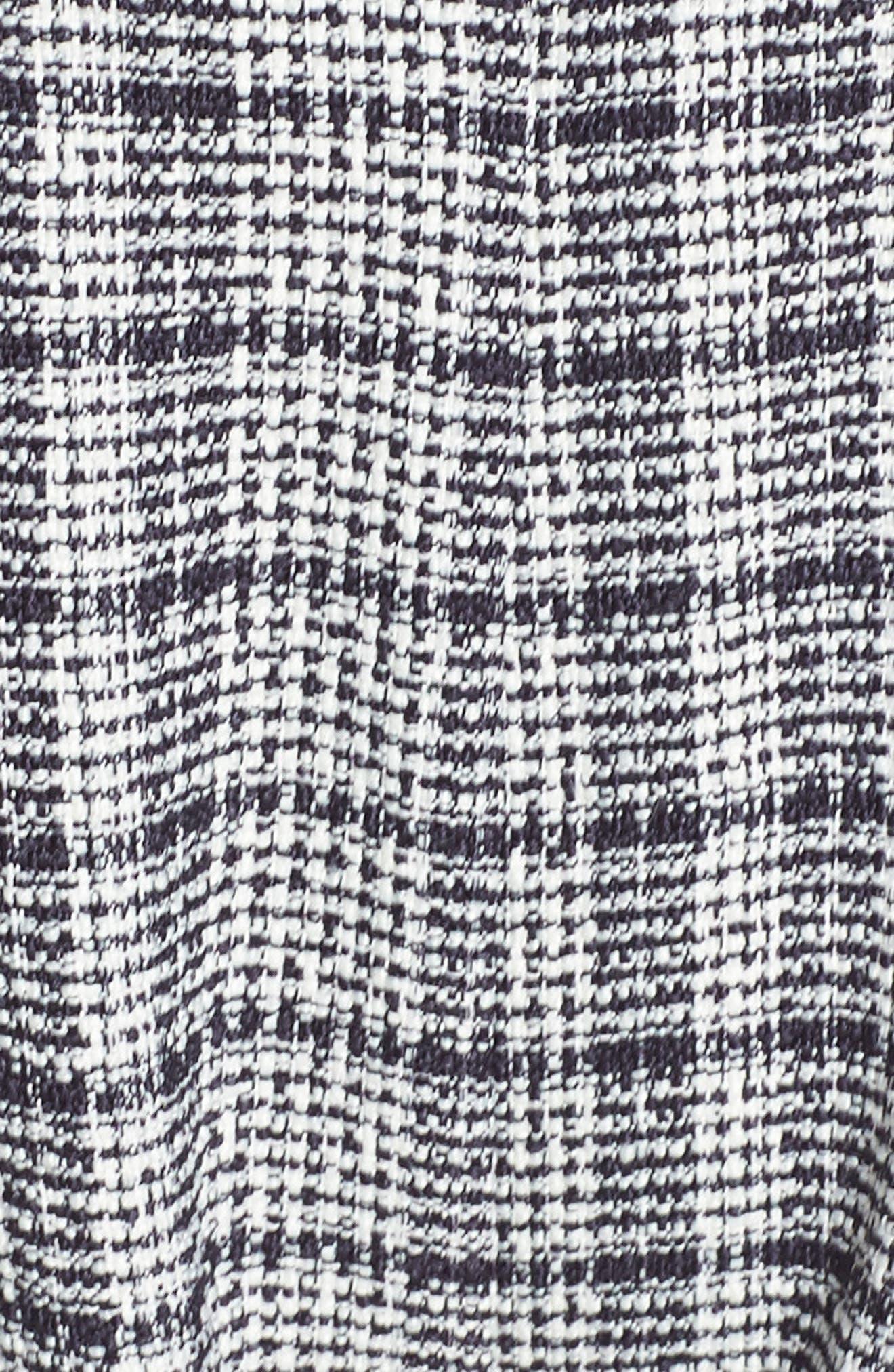 Wide Leg Tweed Jumpsuit,                             Alternate thumbnail 12, color,                             400