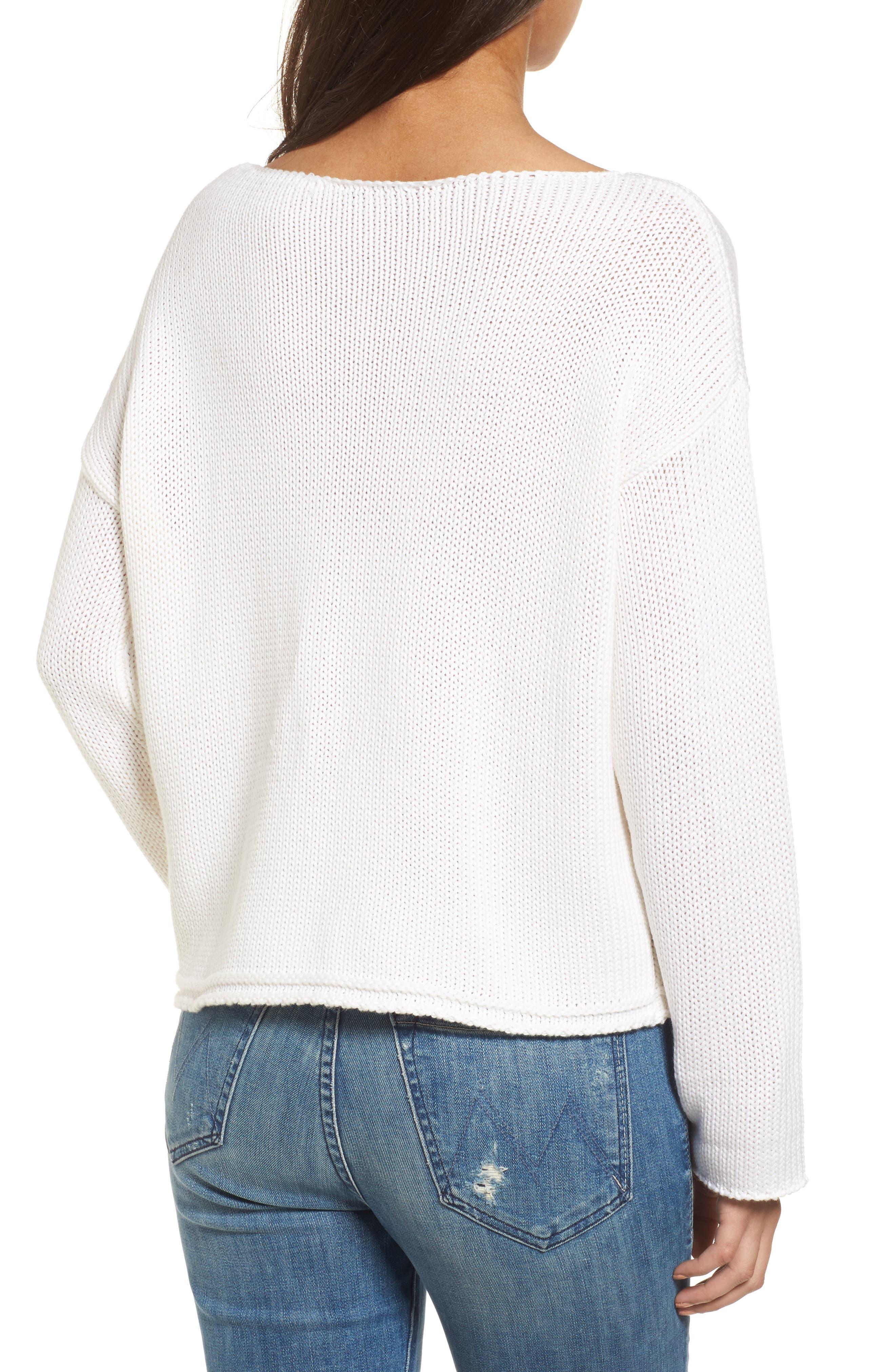 Kalani Star Sweater,                             Alternate thumbnail 2, color,