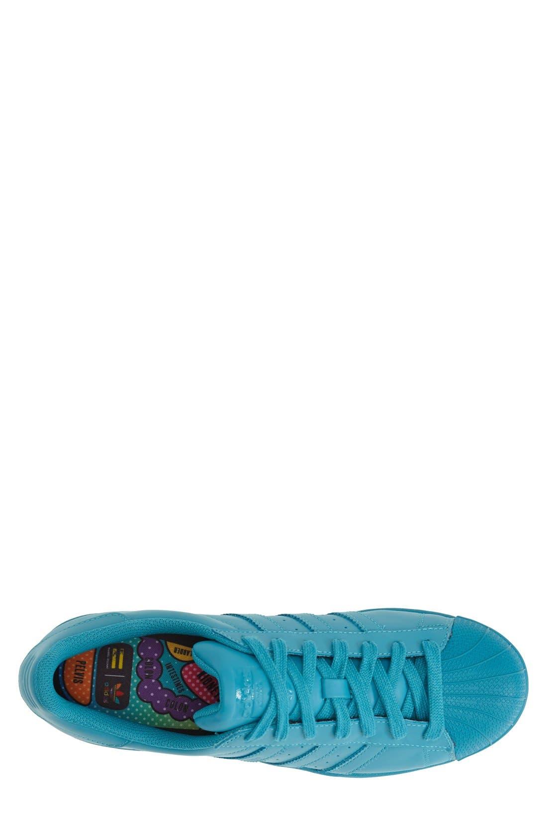 'Pharrell Williams - Superstar Supercolor' Sneaker,                             Alternate thumbnail 4, color,                             300